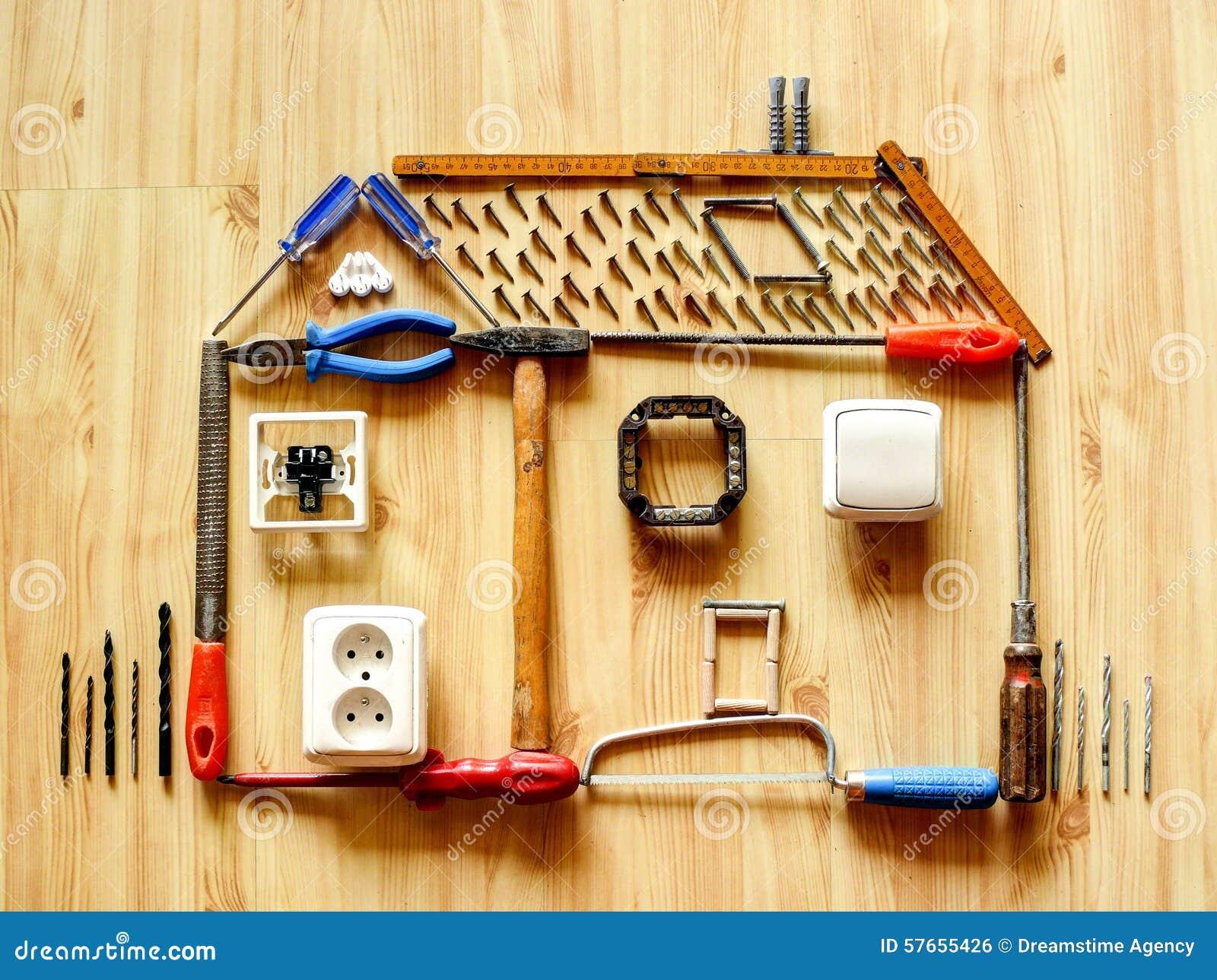 Concepto de las mejoras para el hogar