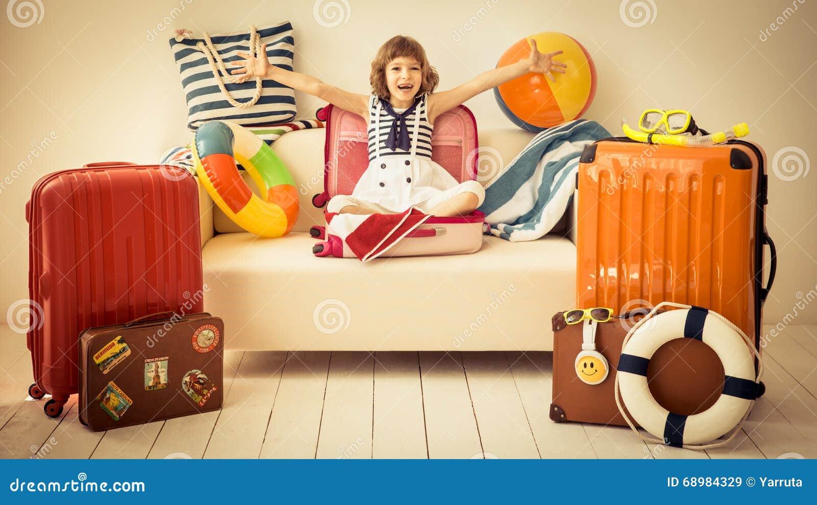 Concepto de las vacaciones de verano