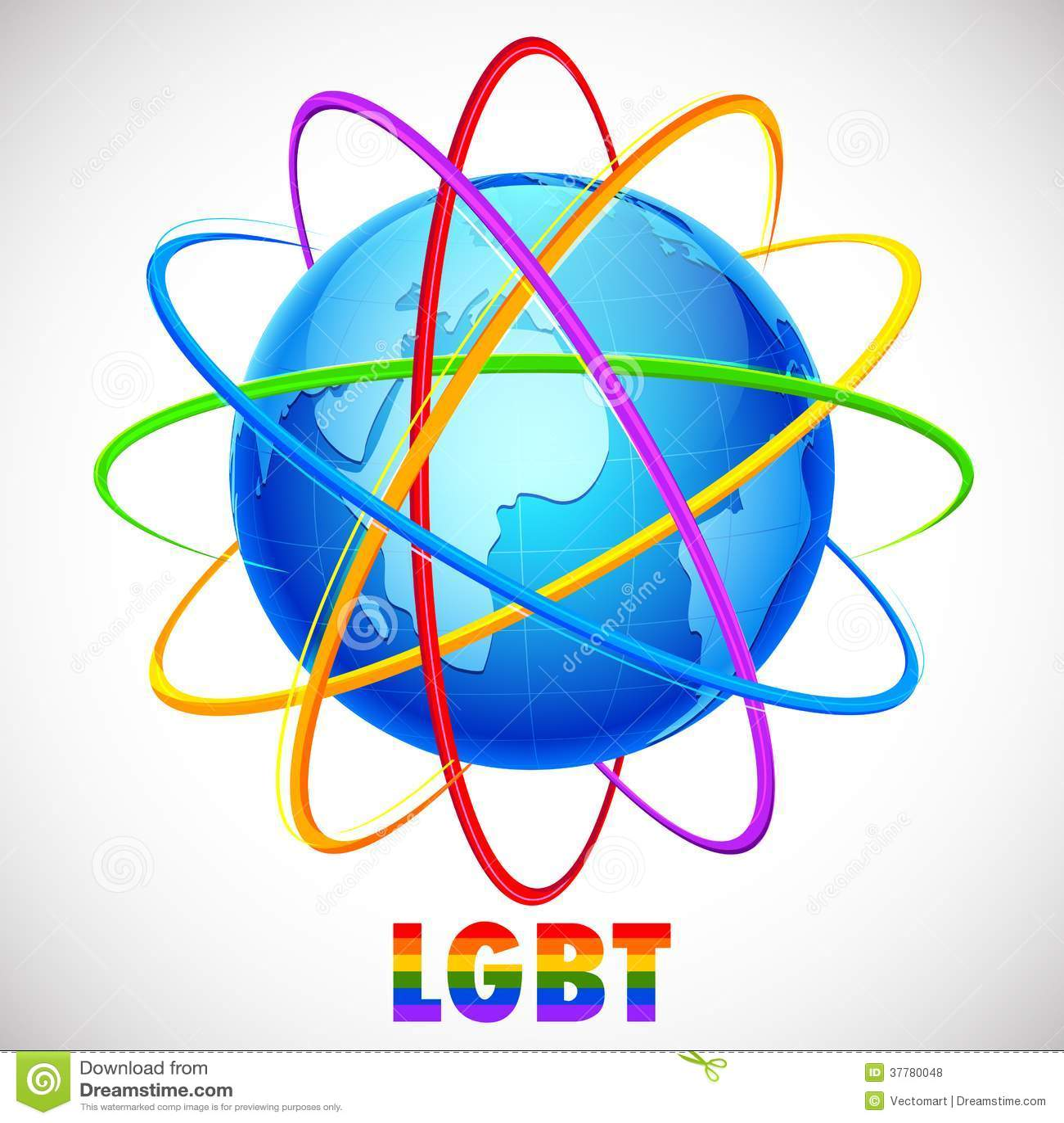 Concepto de LGBT Awarness