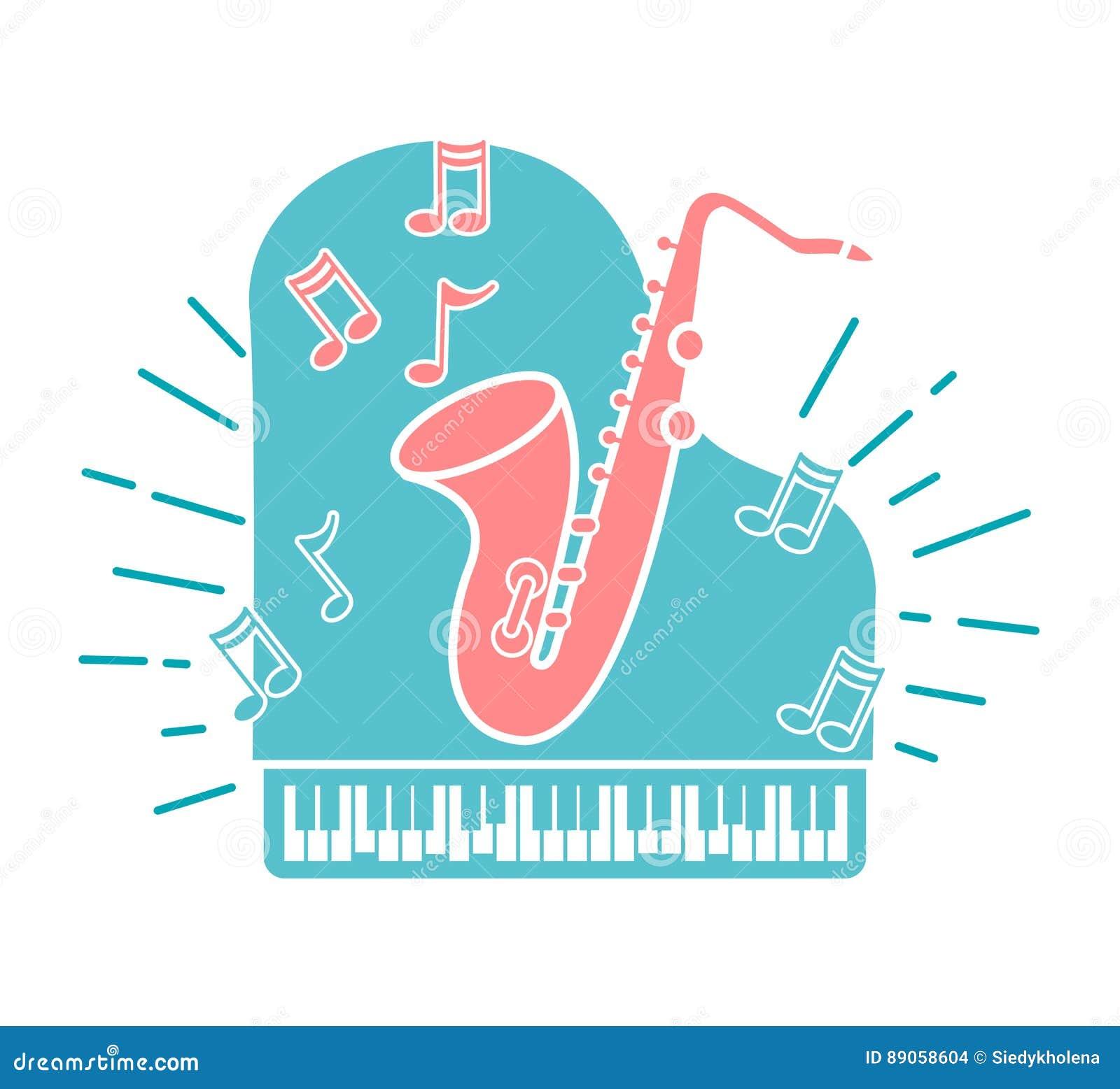 Concepto de música de jazz