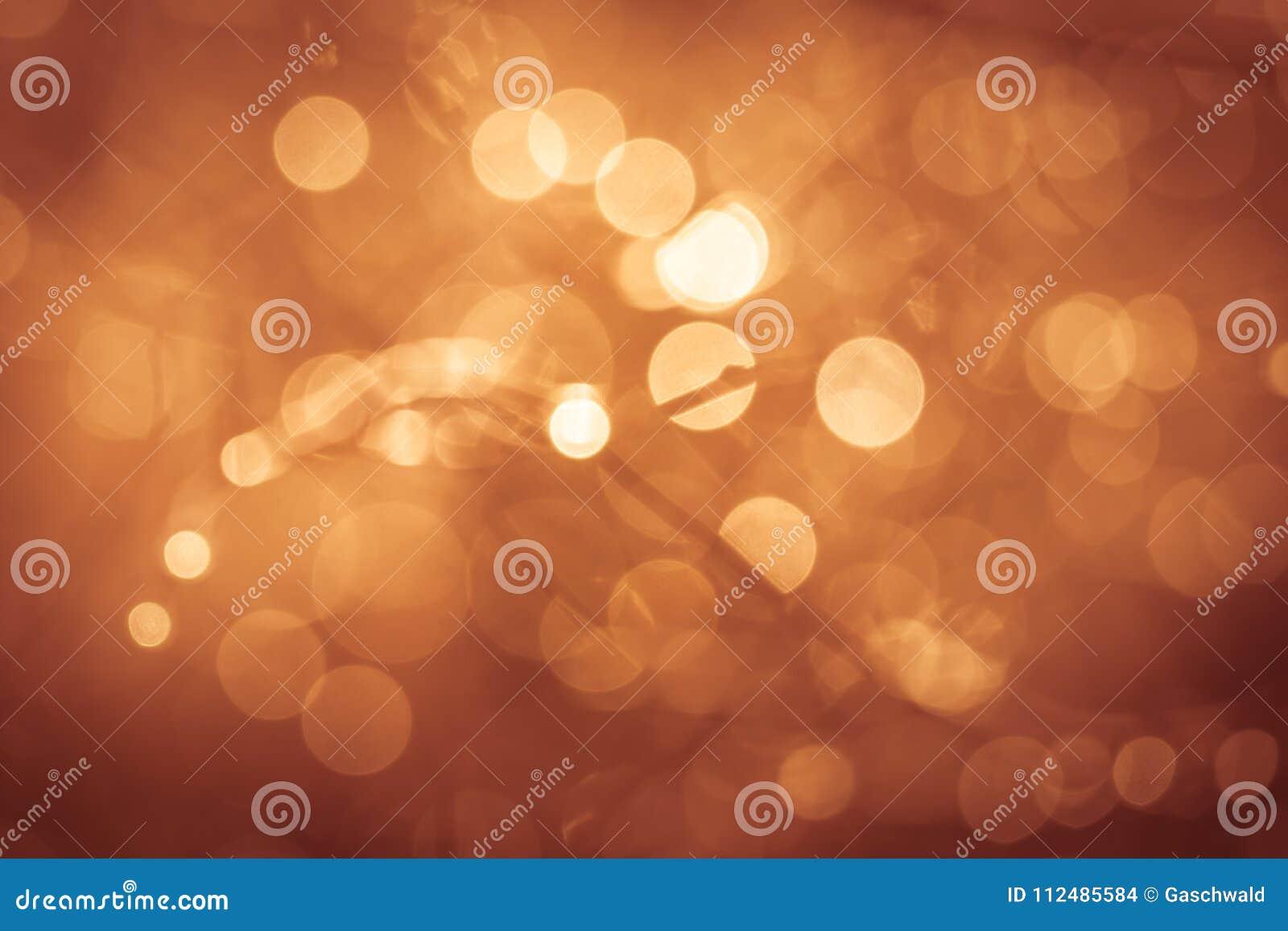 Concepto de oro del fondo del extracto de la naturaleza del verano, foco suave