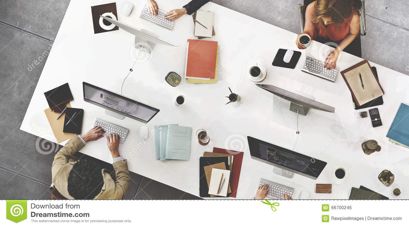 Concepto de Team Meeting Connection Digital Technology del negocio