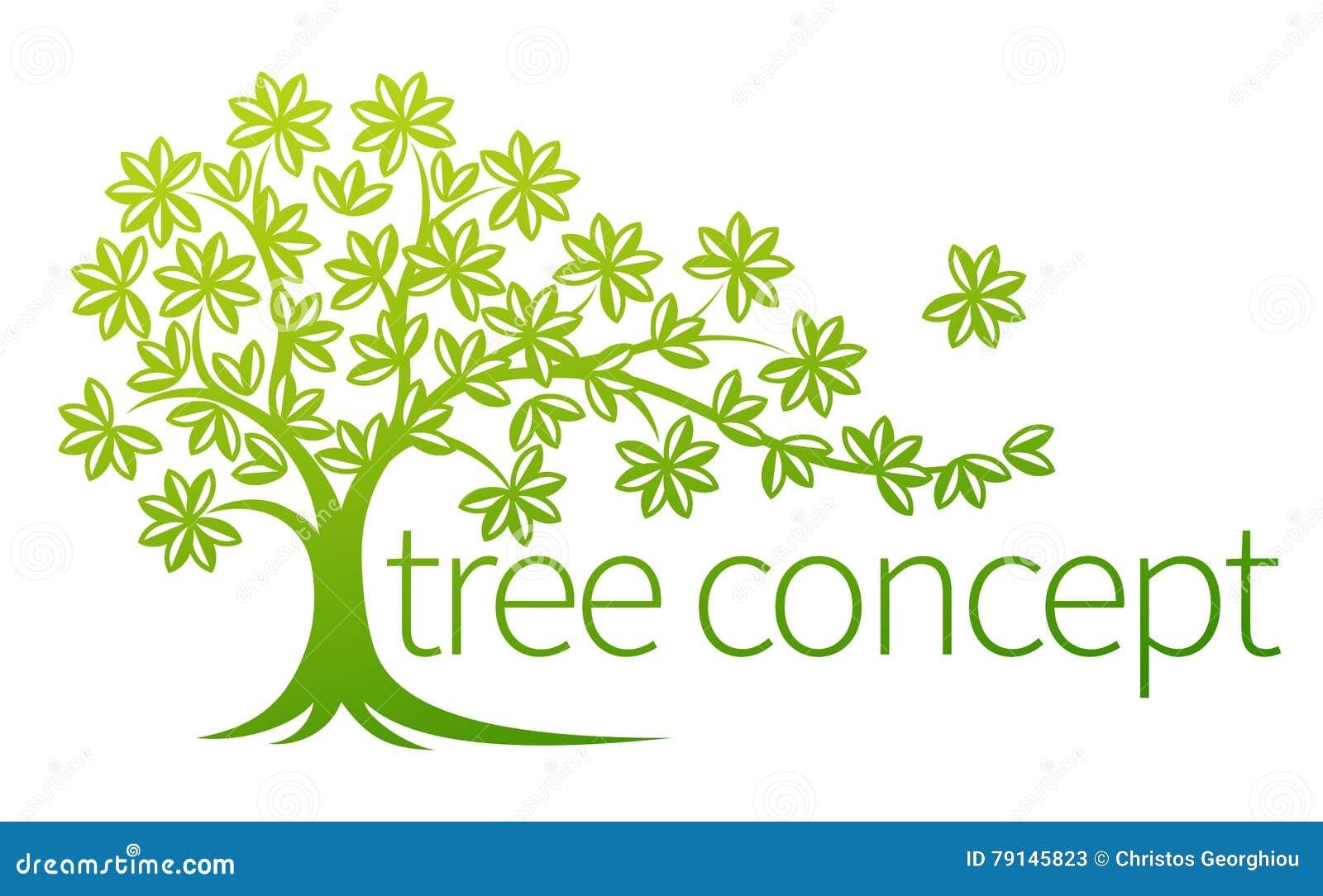Concepto del árbol
