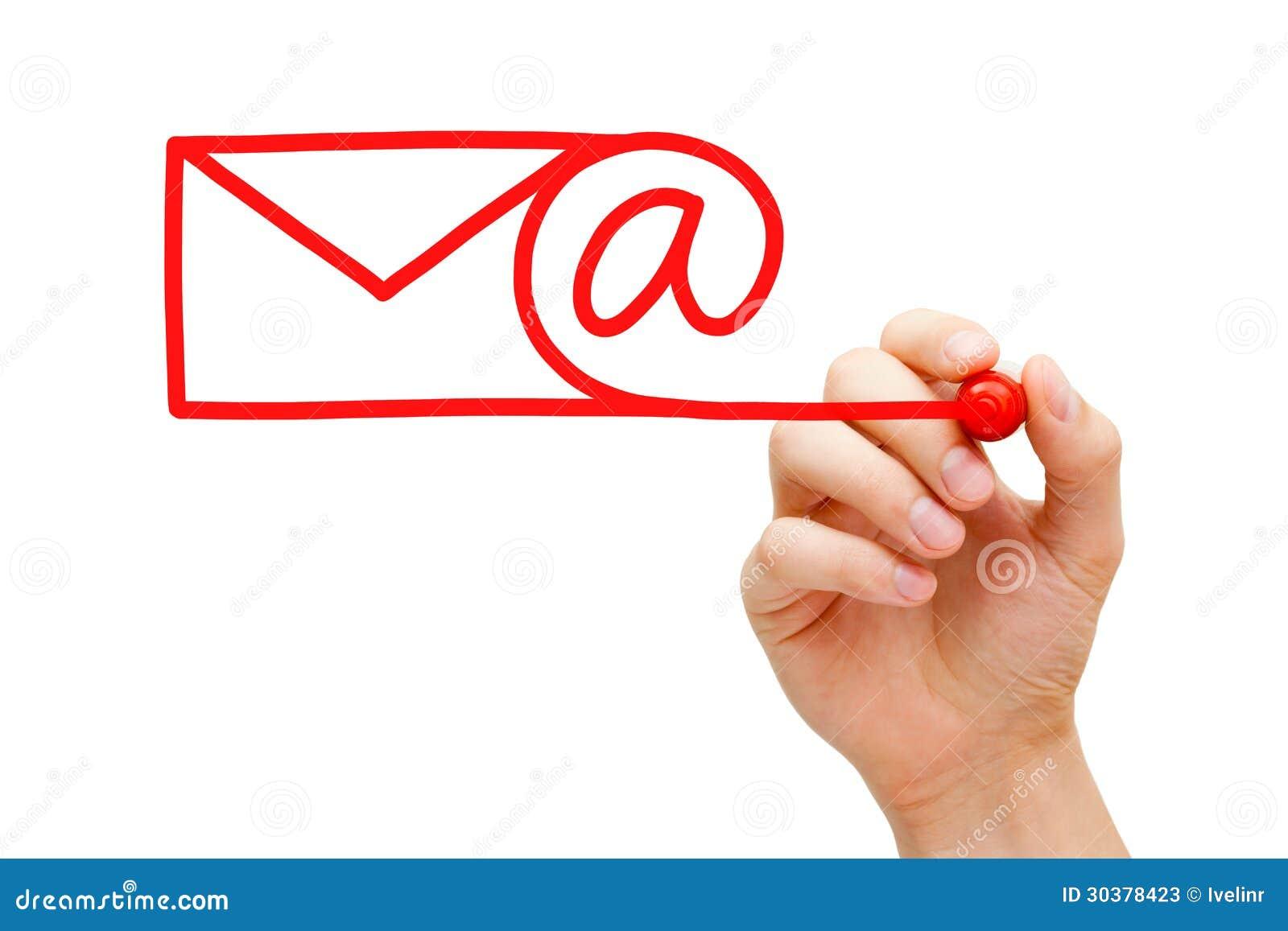 Concepto del correo electrónico