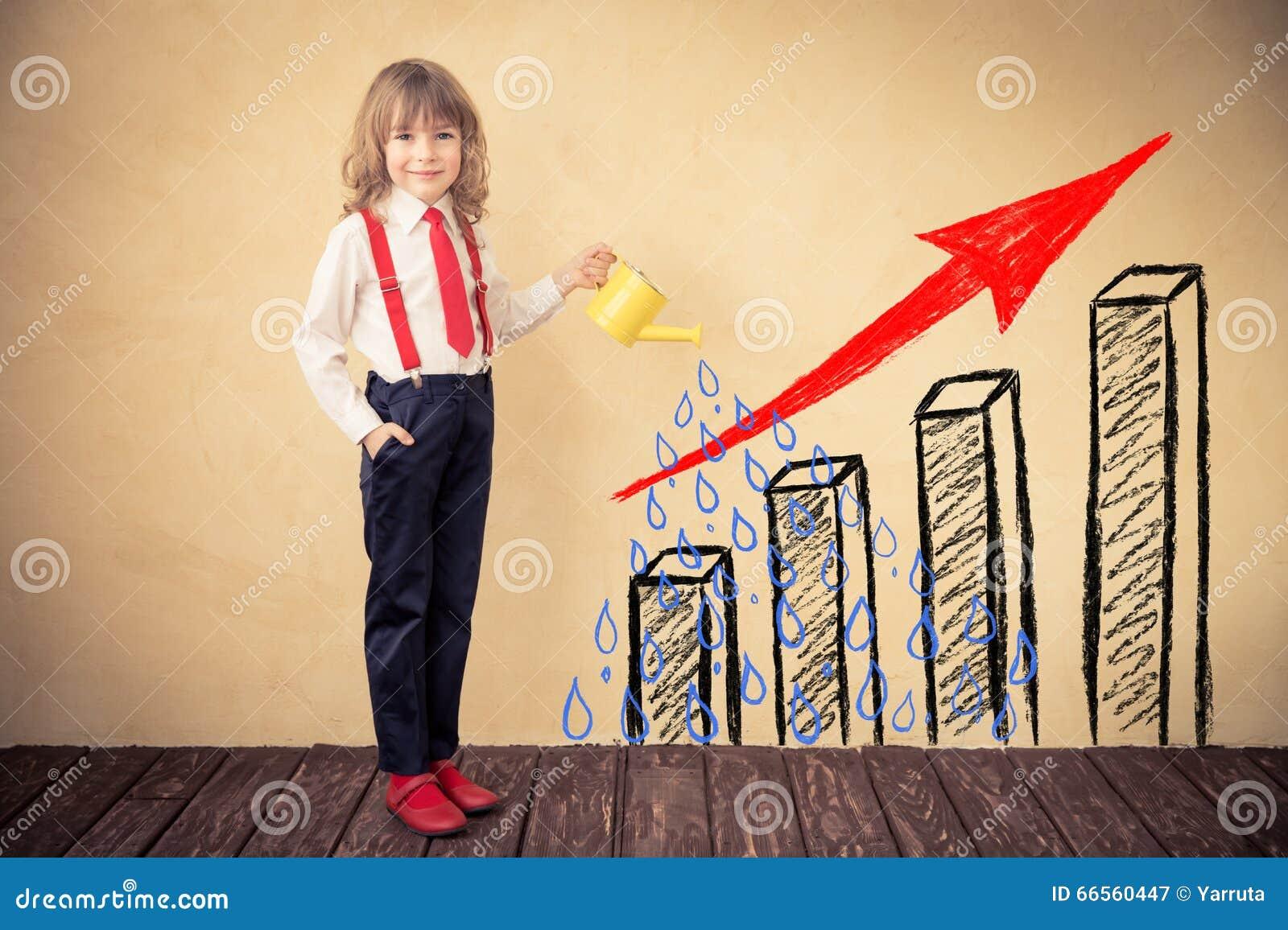 Concepto del crecimiento del asunto
