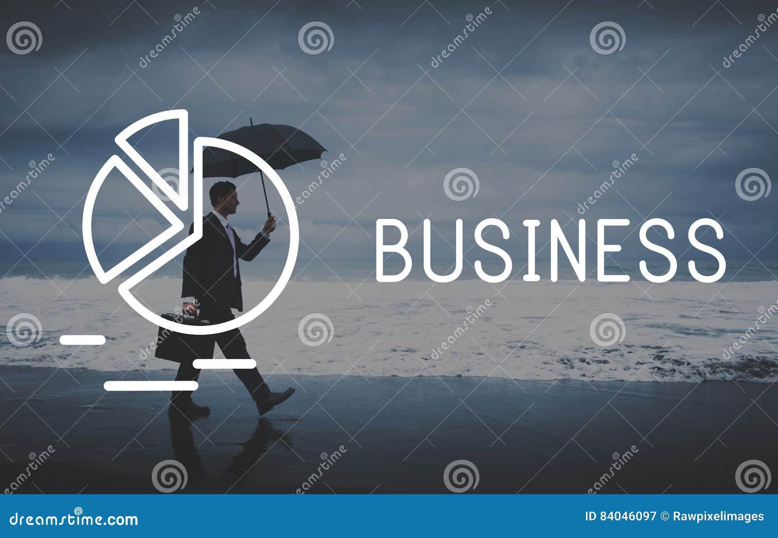 Concepto del desarrollo de la empresa corporativa del negocio