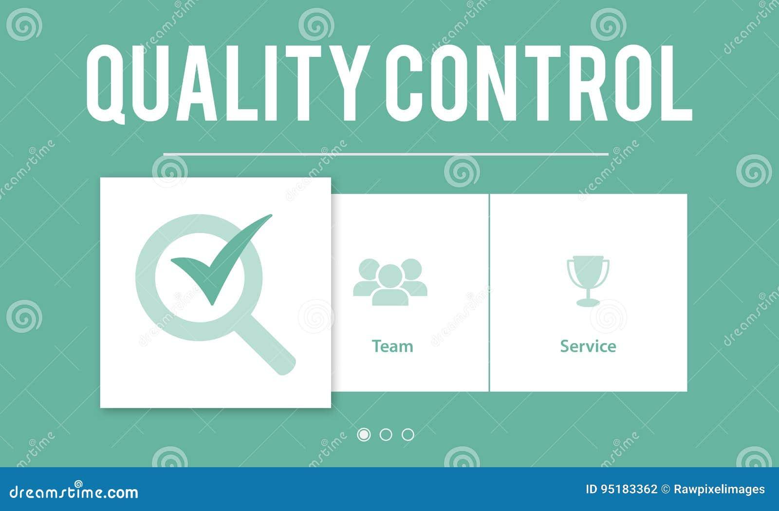 Concepto del desarrollo de la mejora del control de calidad