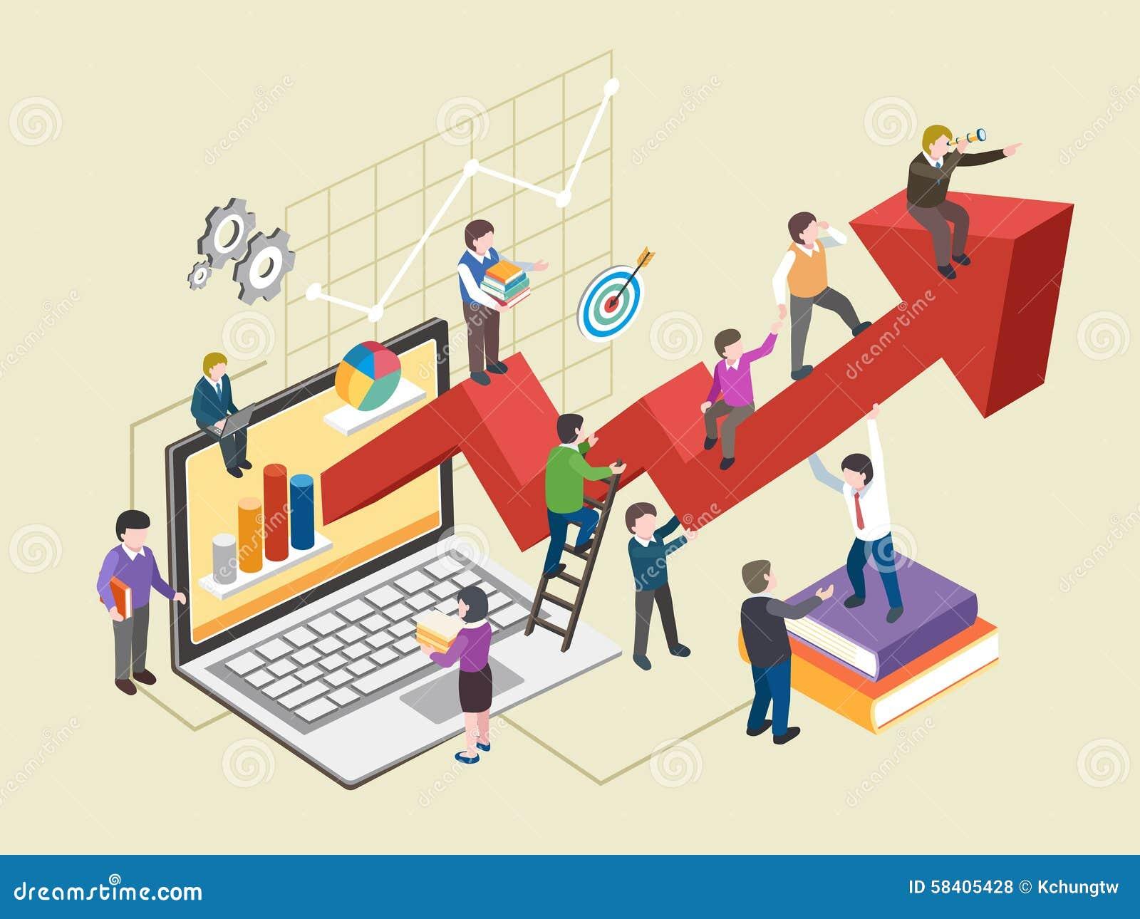 Concepto del desarrollo econ mico ilustraci n del vector for Design economico