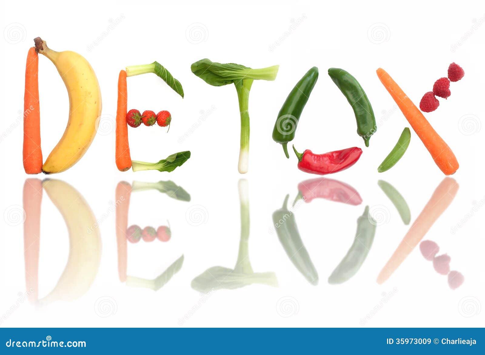 Concepto del Detox