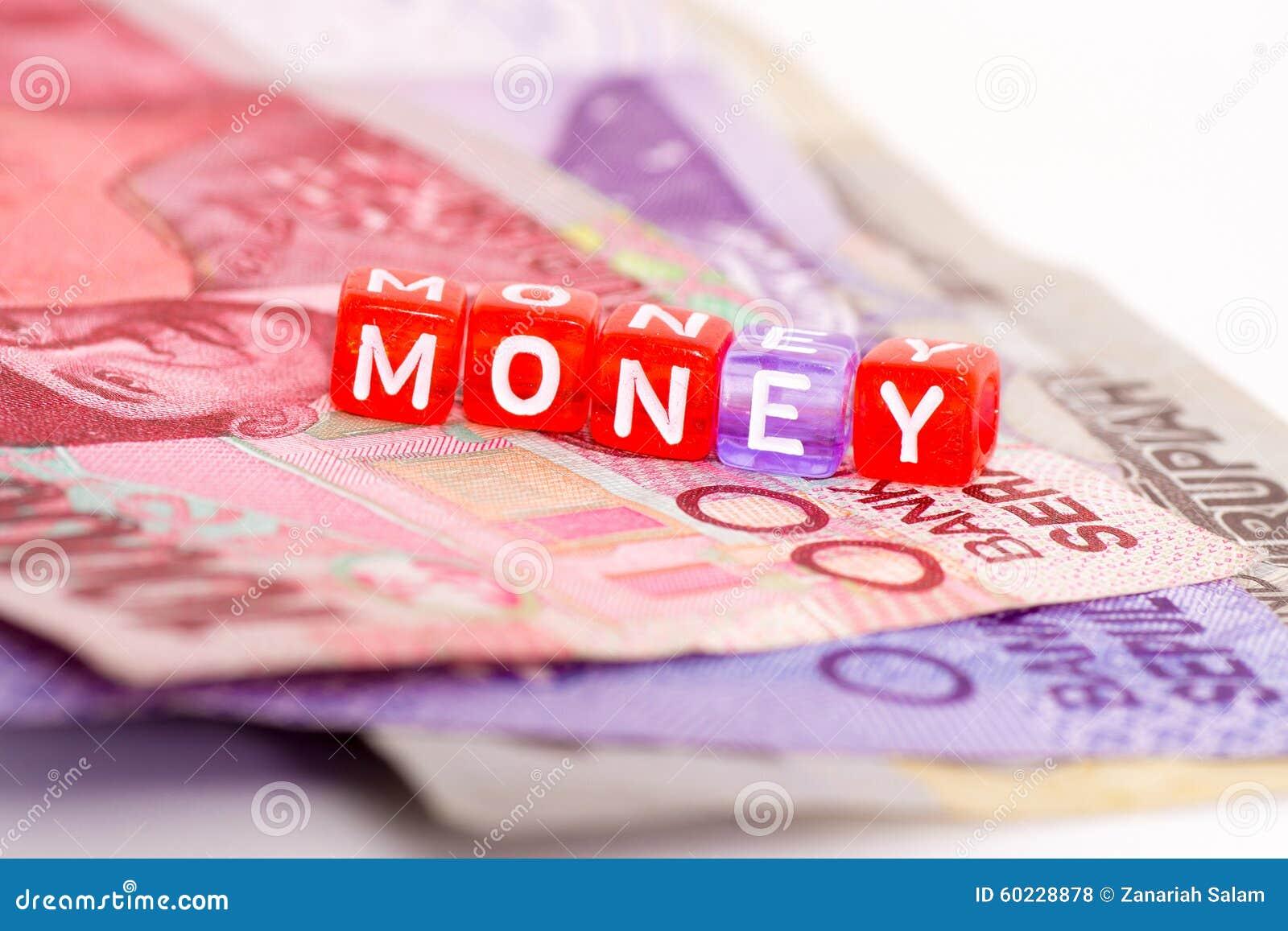 Concepto del dinero