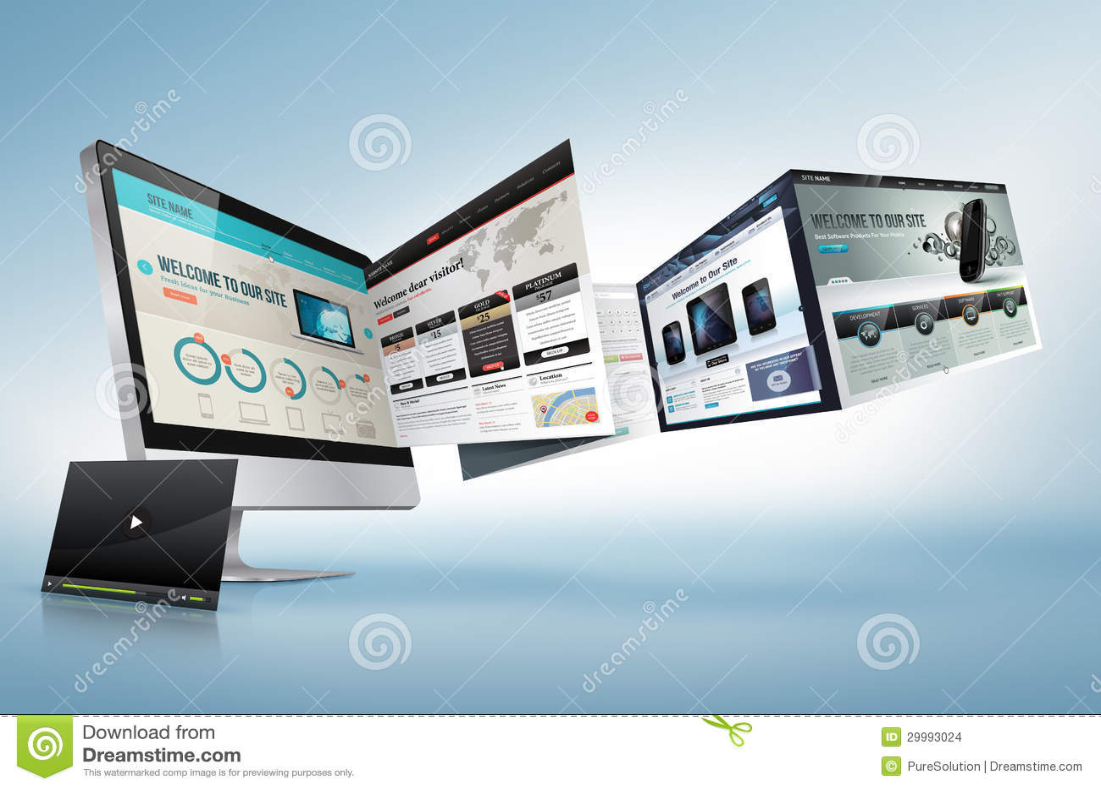 Concepto del diseño web
