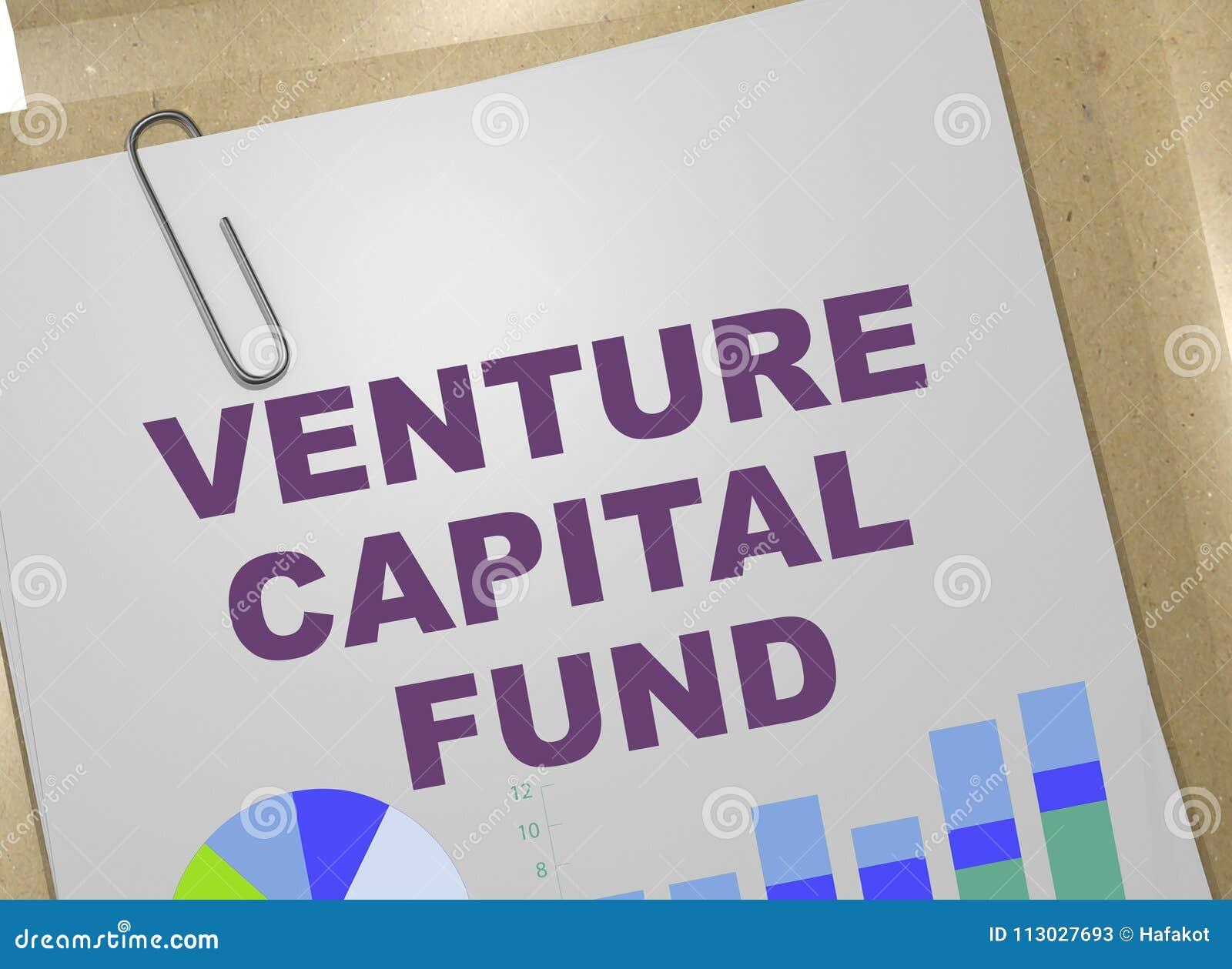 Concepto del fondo de capital de riesgo