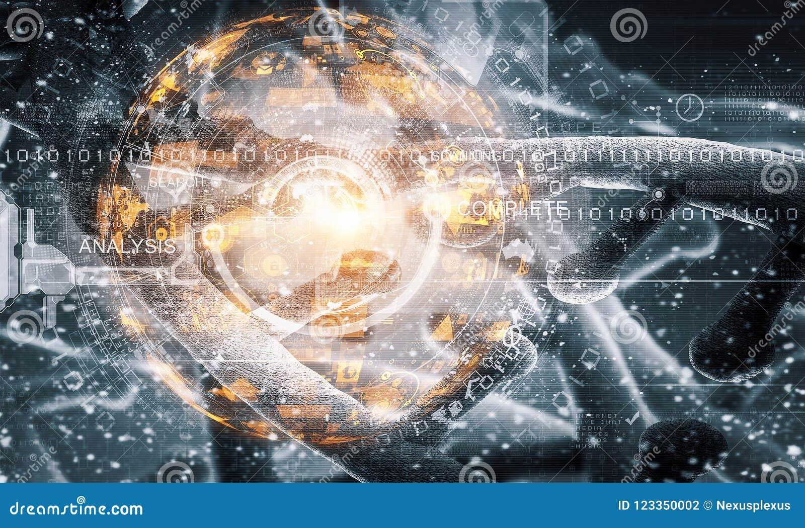 Concepto del fondo de la biotecnología
