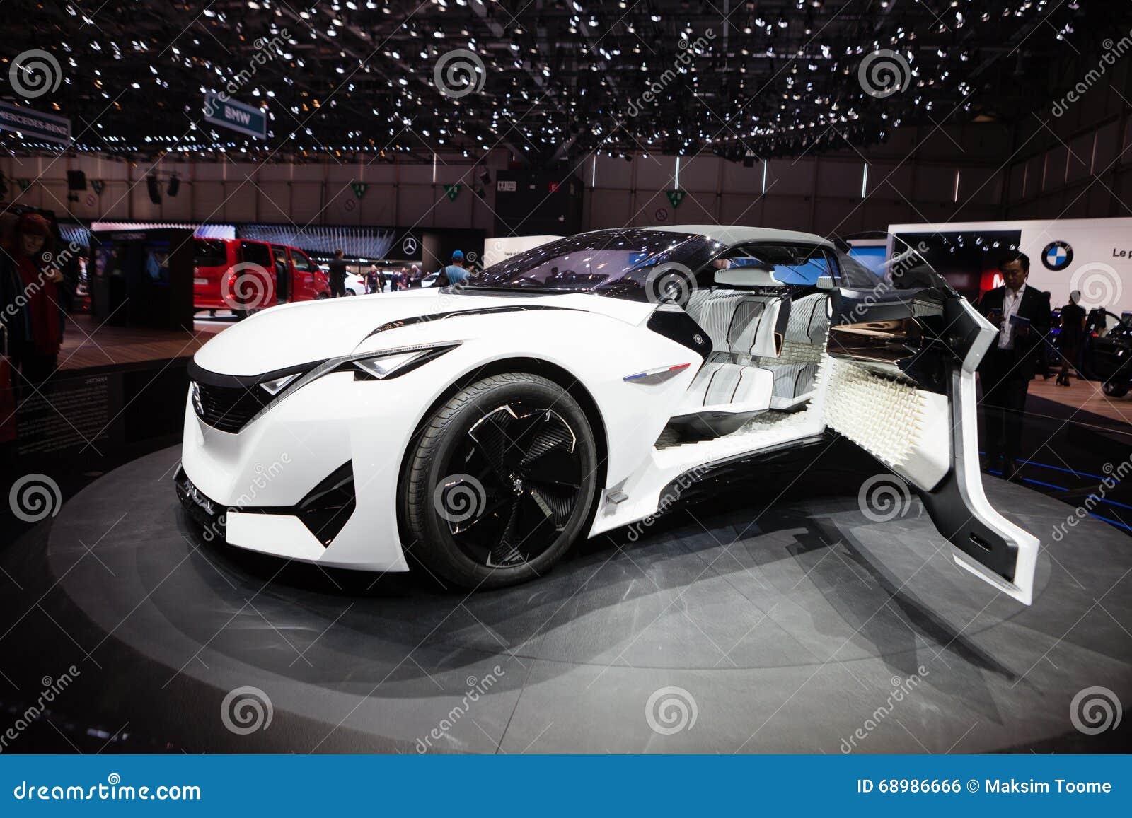 Concepto del fractal de Peugeot
