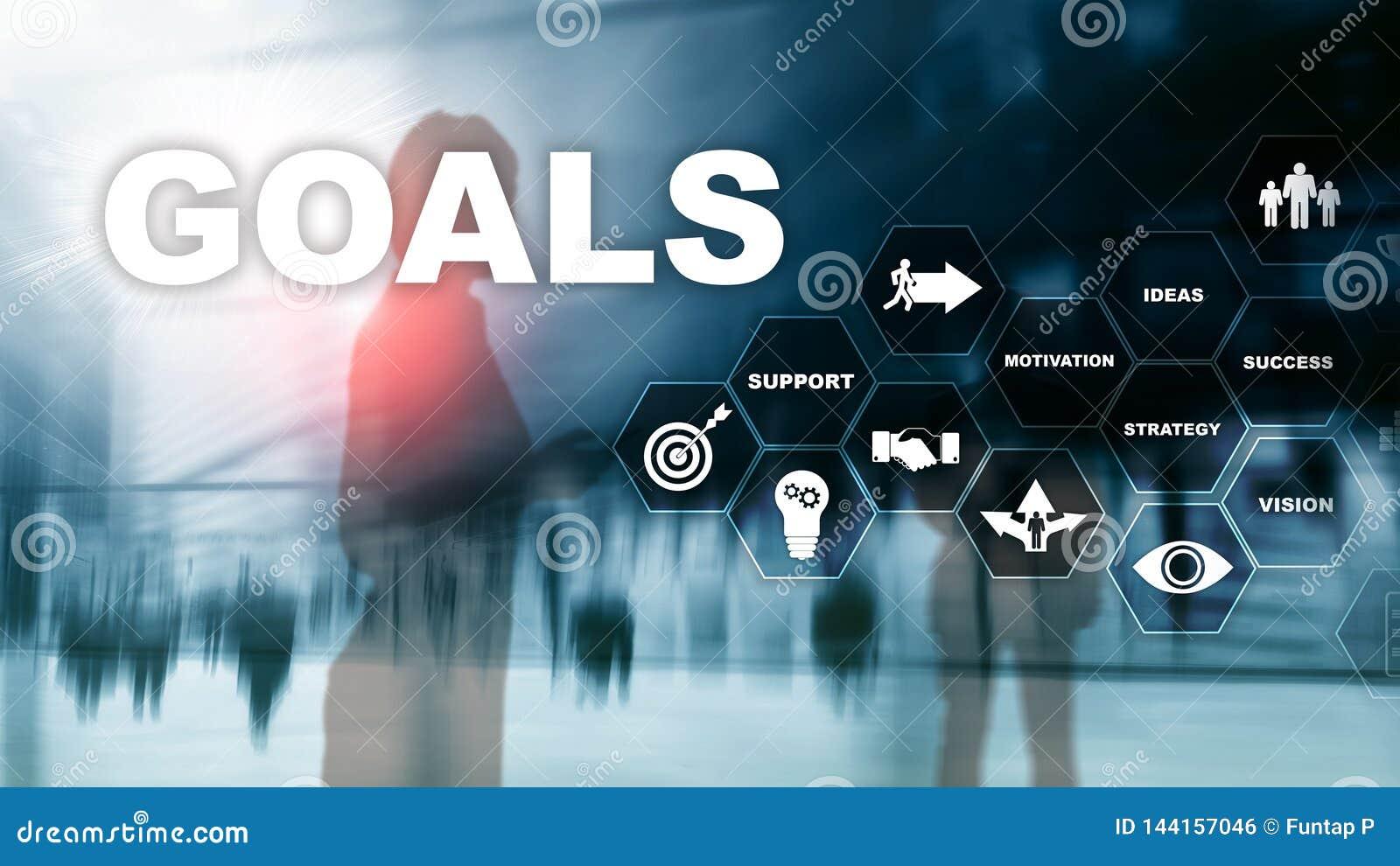 Concepto del gráfico del logro de las expectativas de las metas de la blanco Desarrollo de negocios al éxito y al crecimiento cad