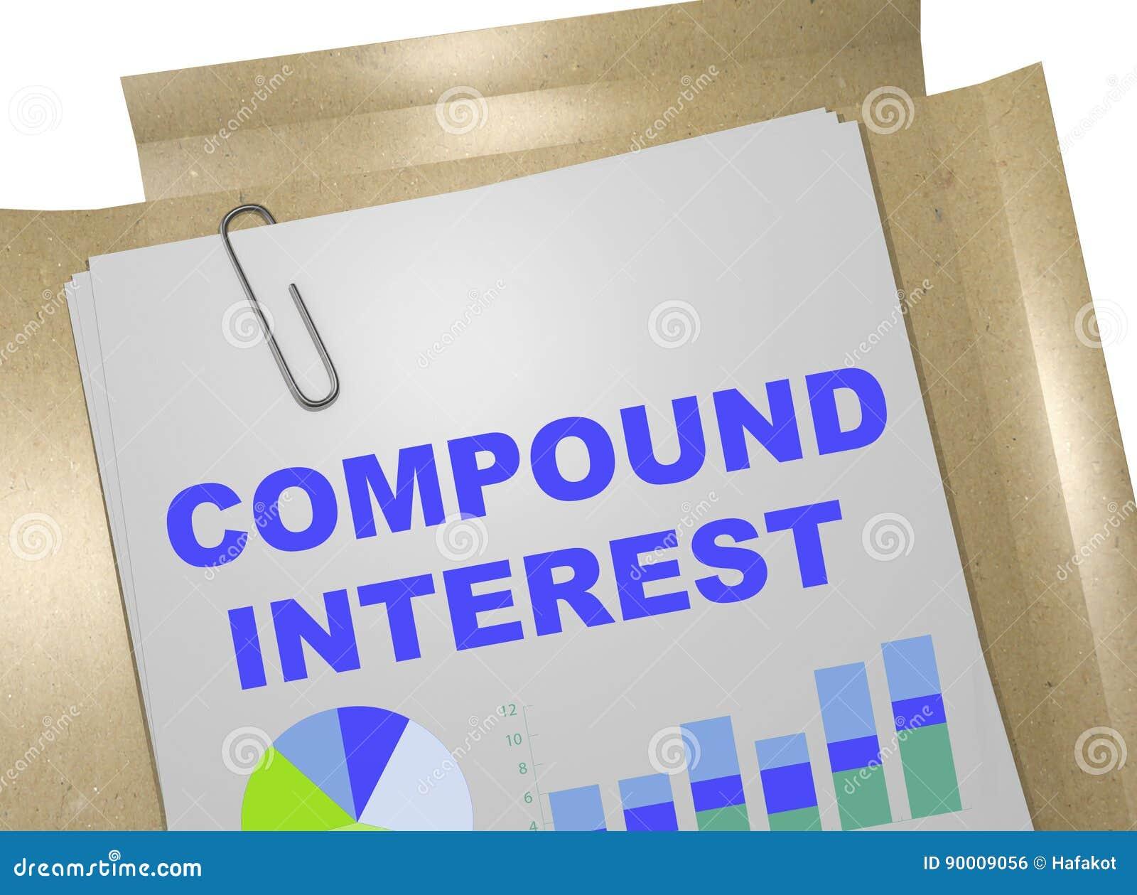 Concepto del interés compuesto