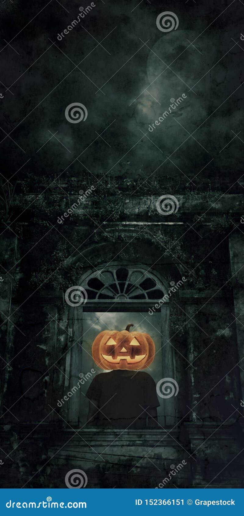 Concepto del misterio de Halloween
