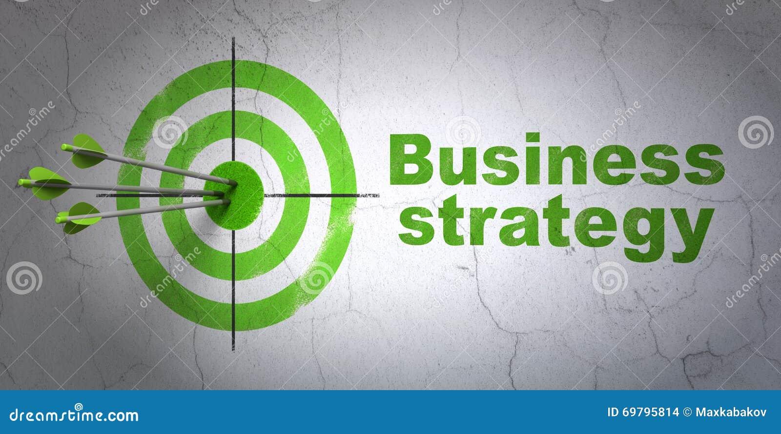 Concepto del negocio: blanco y estrategia empresarial en fondo de la pared