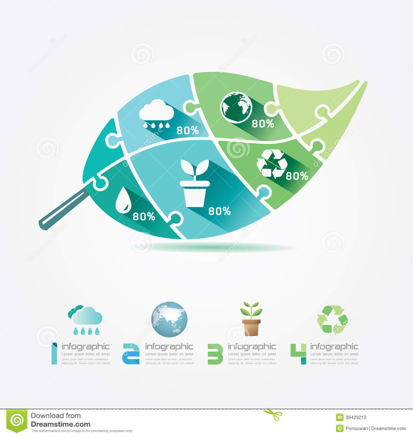 Concepto del rompecabezas de infographic de la ecolog a de for Match the ocean floor feature with its characteristic