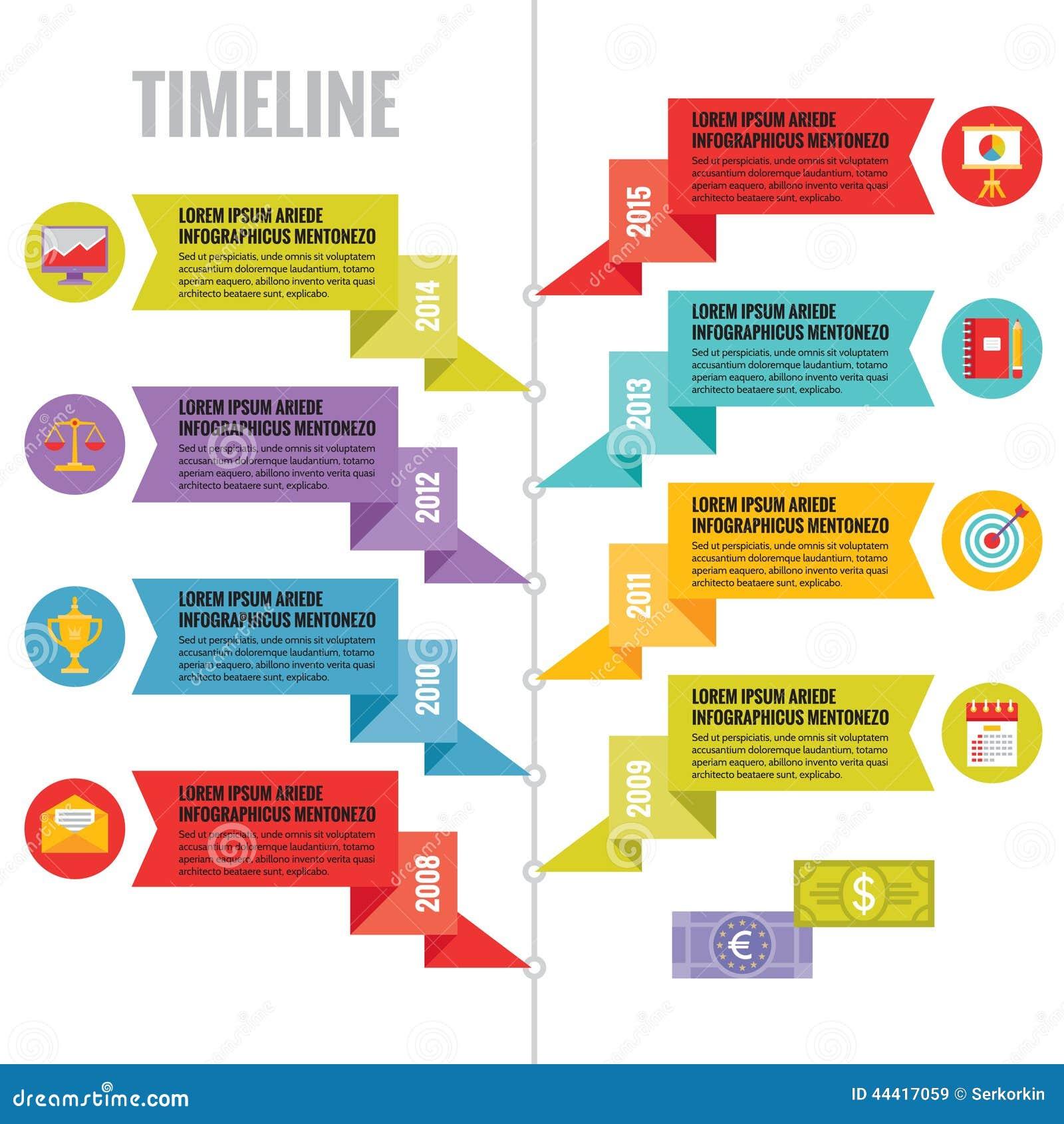 Concepto Del Vector De Infographic En El Estilo Plano Del Diseño ...