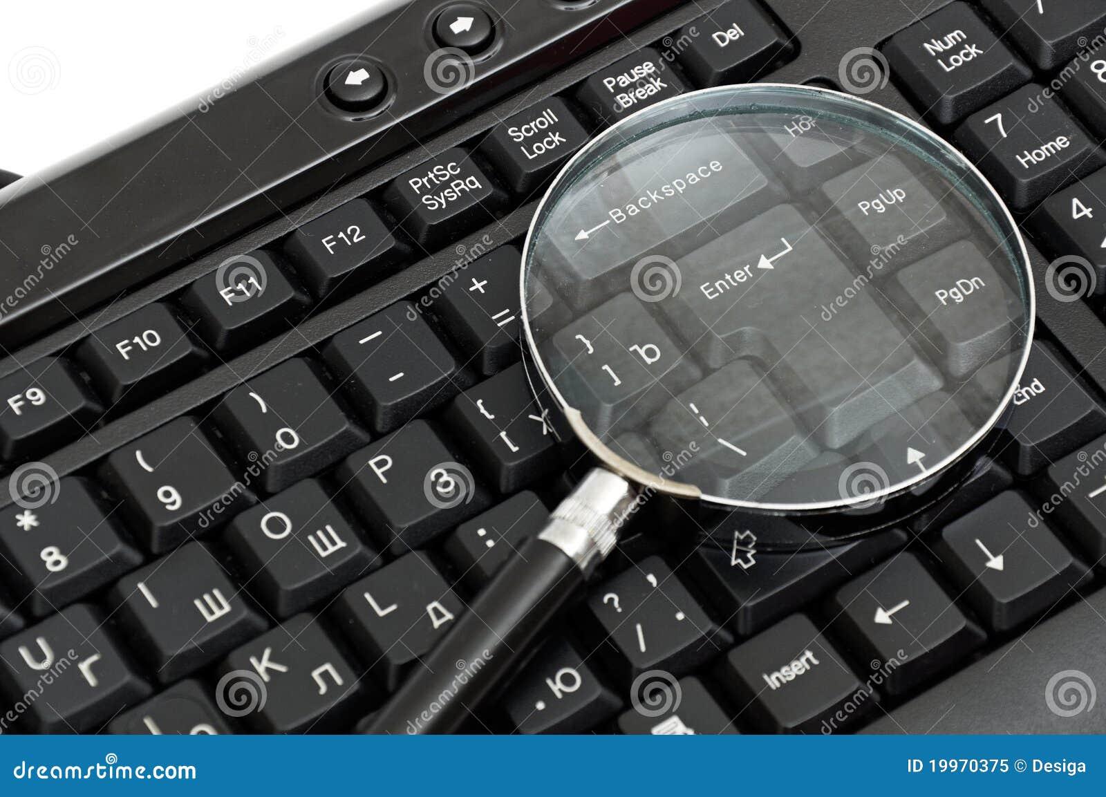 Concepto en línea de la búsqueda