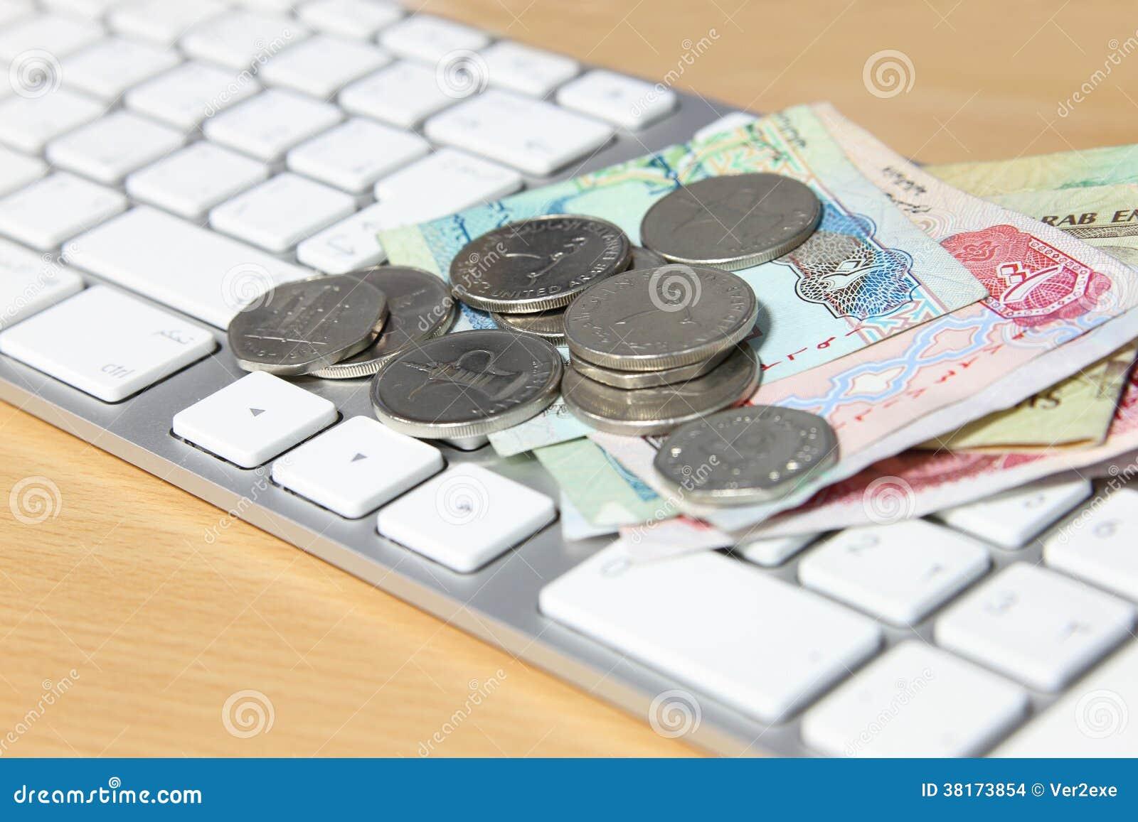 Concepto en línea de la transacción