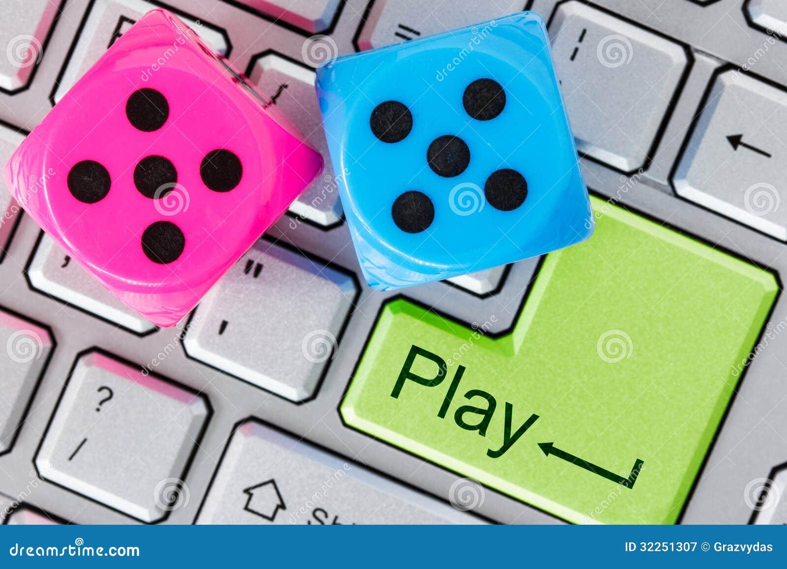 Concepto en línea del juego
