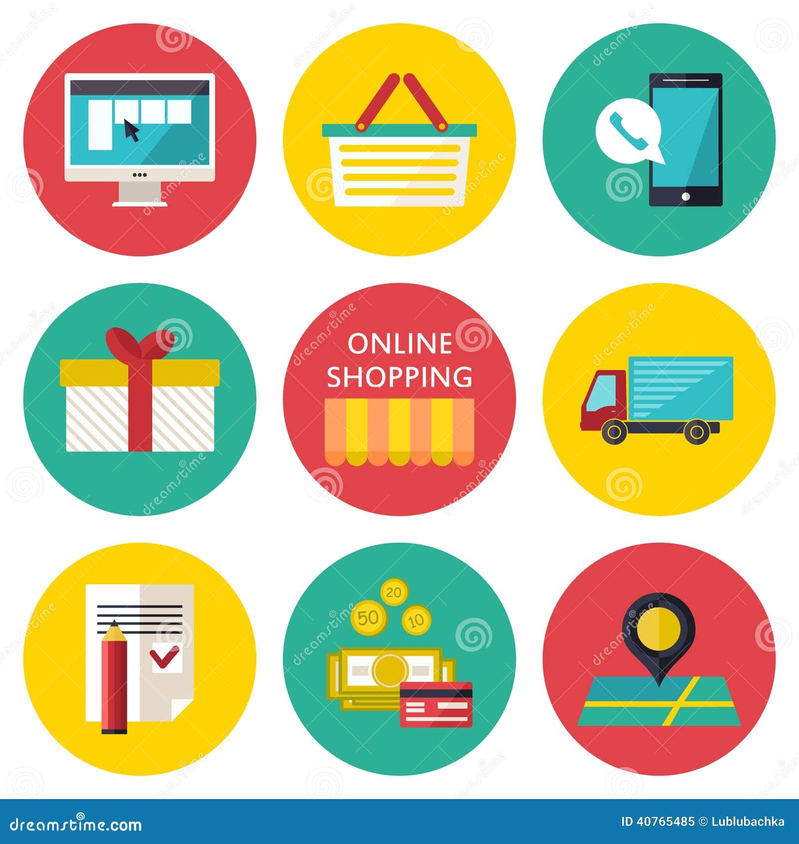 Concepto en l nea del proceso de las compras ejemplo del - Central de compras web ...