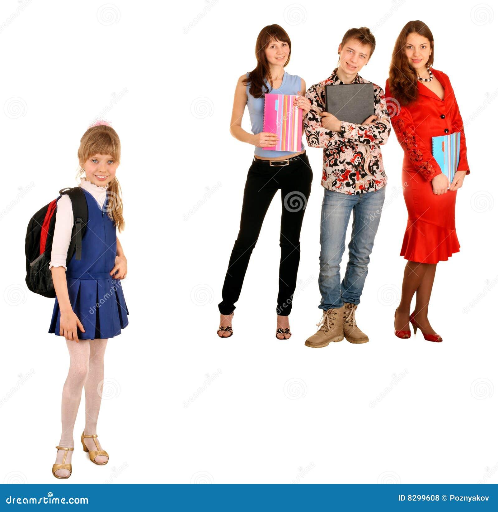 Concepto. Generación dos: estudiante y alumno.