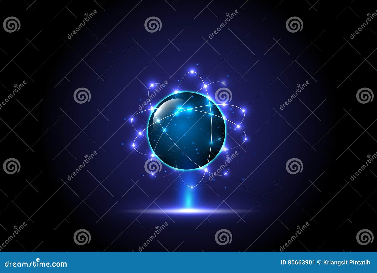 Concepto global digital de la tecnología, fondo abstracto