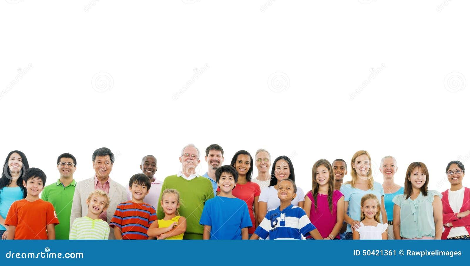 Concepto grande de la ayuda de la unidad de la gente de la comunidad de la muchedumbre