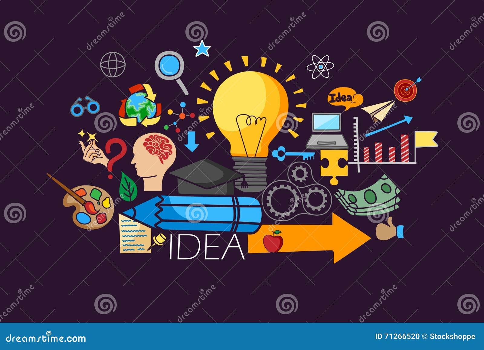 Concepto Grande De La Idea Para La Plantilla Del Diseño Web ...