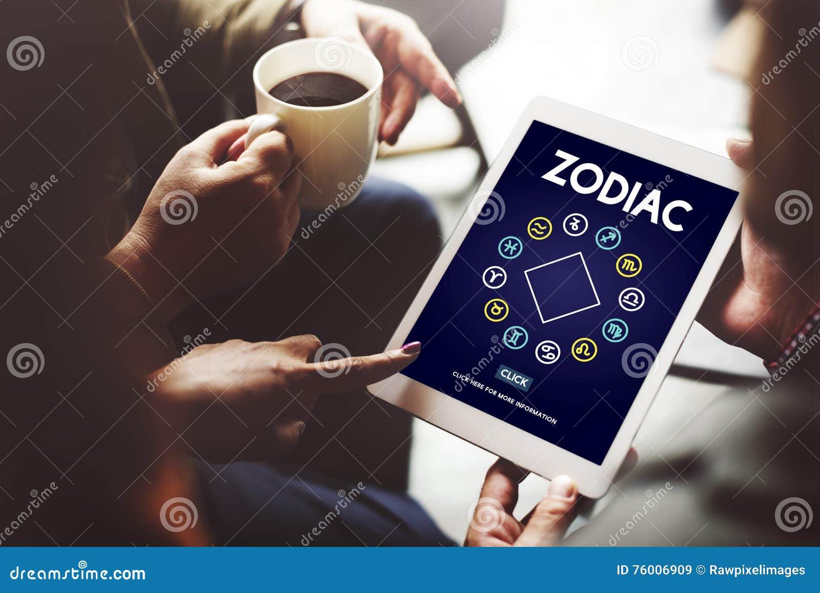 Concepto histórico de la astronomía de la predicción del zodiaco