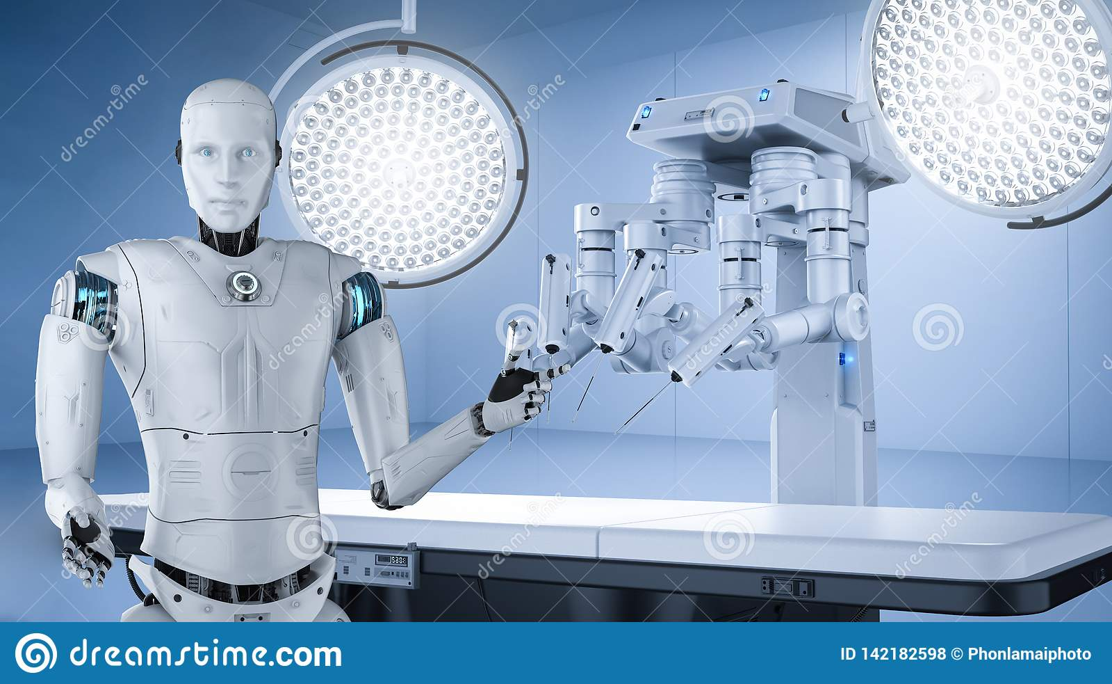 Concepto médico de la tecnología