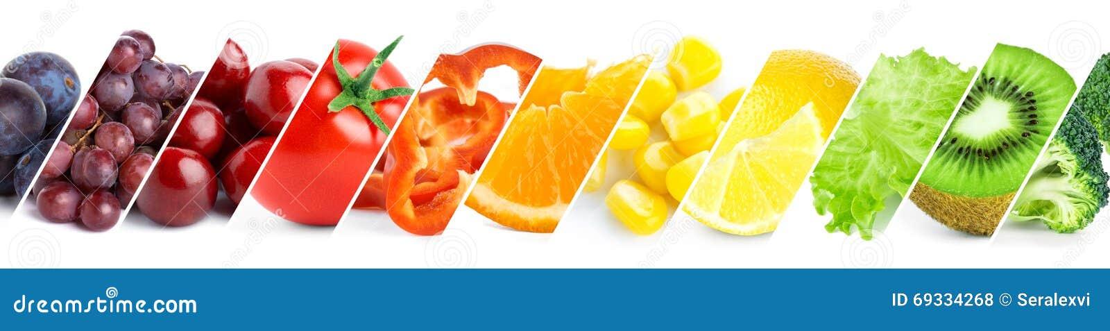 Concepto sano del alimento