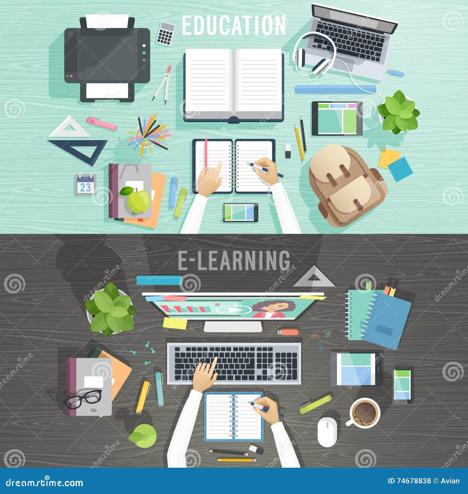 Conceptos de la educación y del aprendizaje electrónico