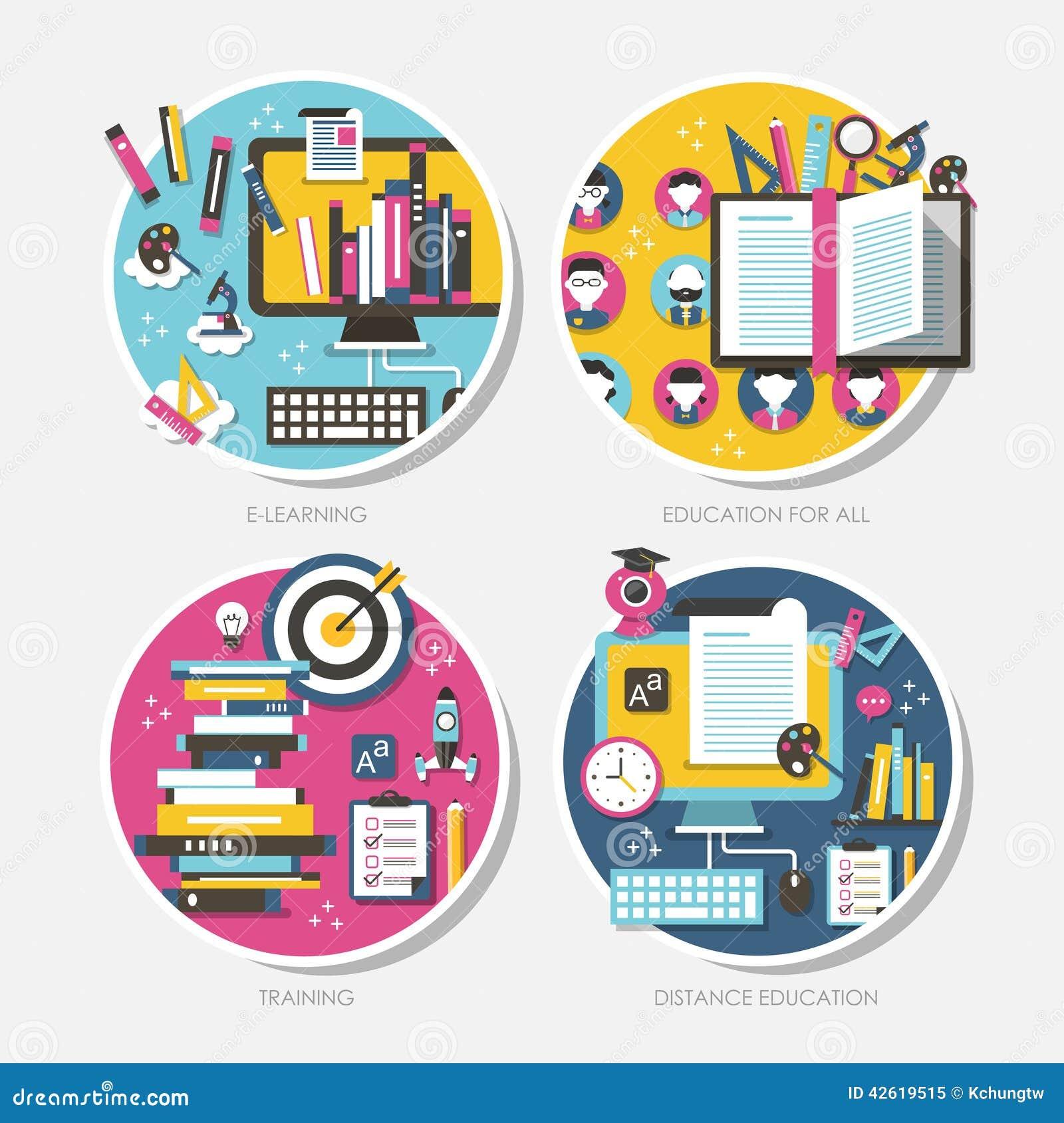 Concepts de construction plats pour l éducation