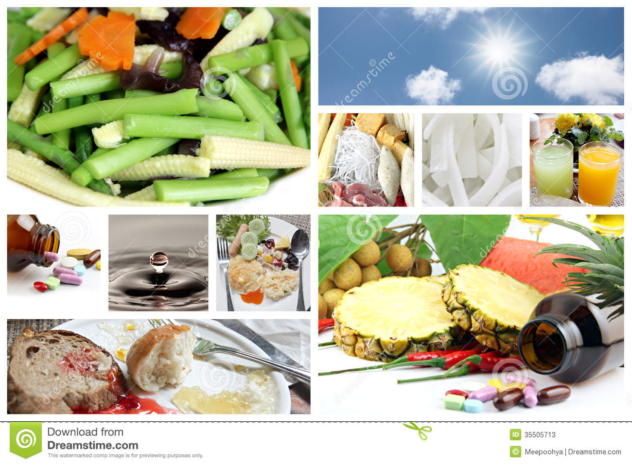 Food and good health - Royalty Free Stock Photo Download Concepts Of Food For Good Health
