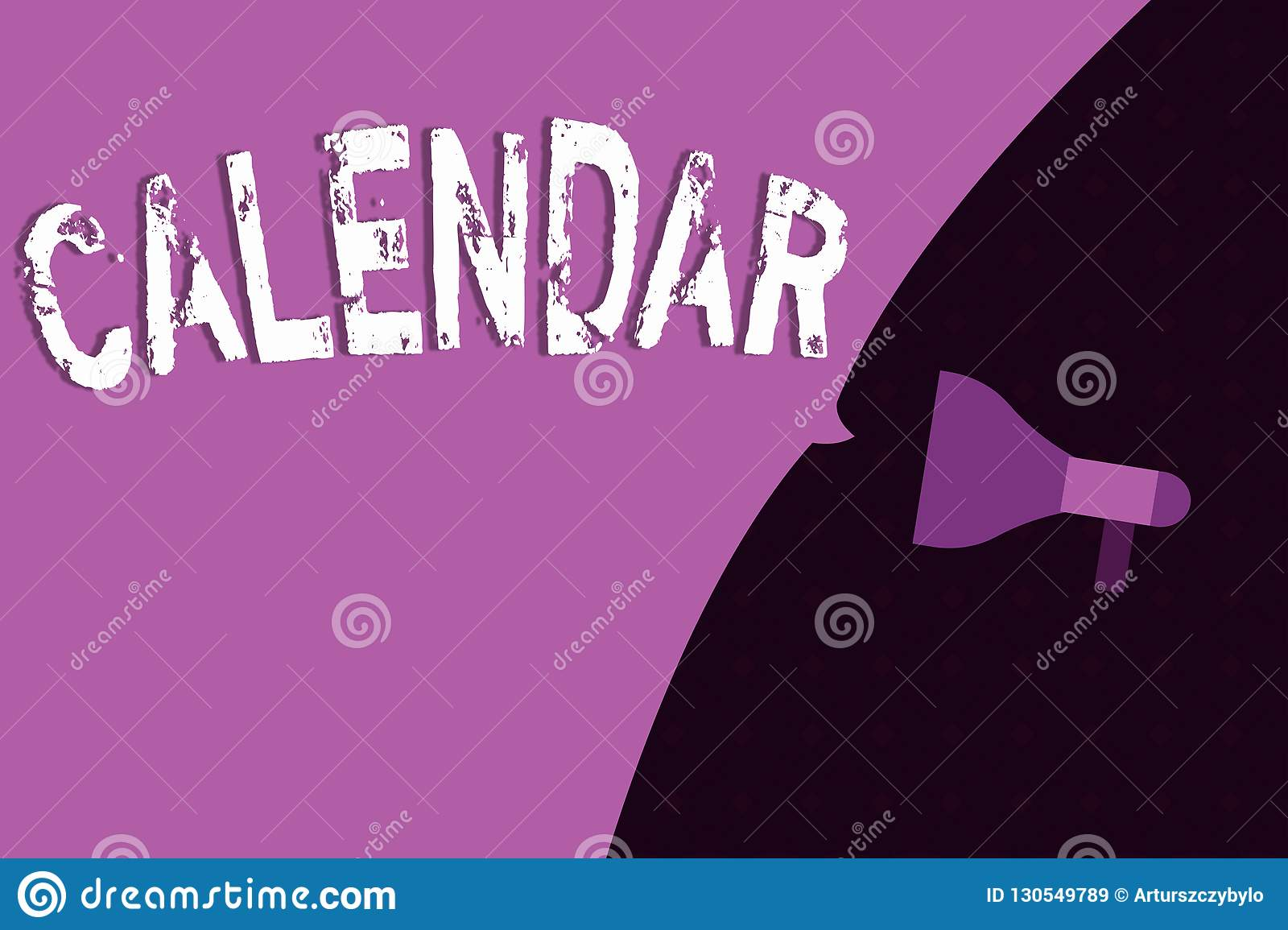 Conceptual hand writing showing Calendar. Business photo showcasing Pages showing days weeks months of particular year Reminder