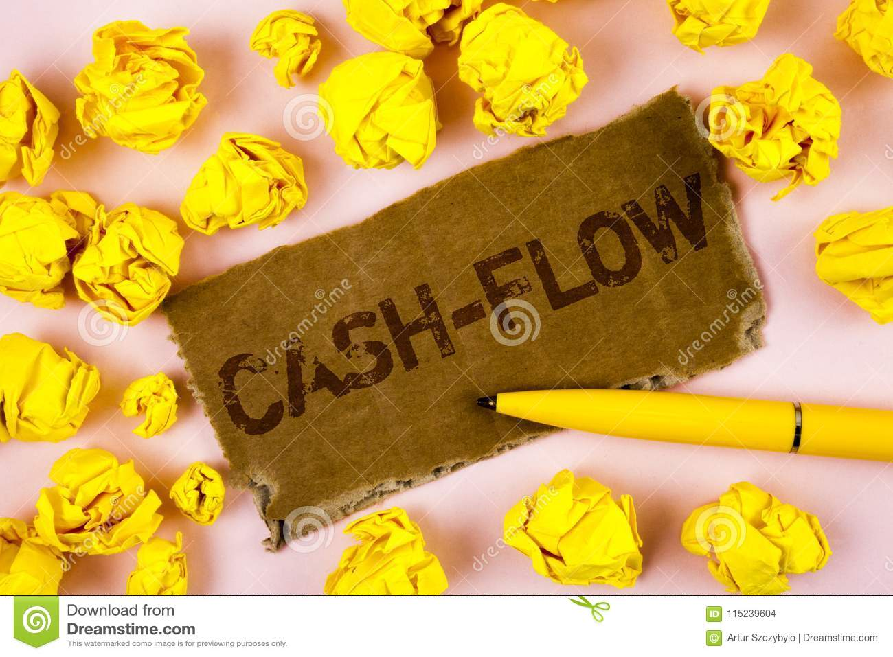 Conceptual hand writing showing Cash-Flow. Business photo text Virtual movement of money by company finance department statistics