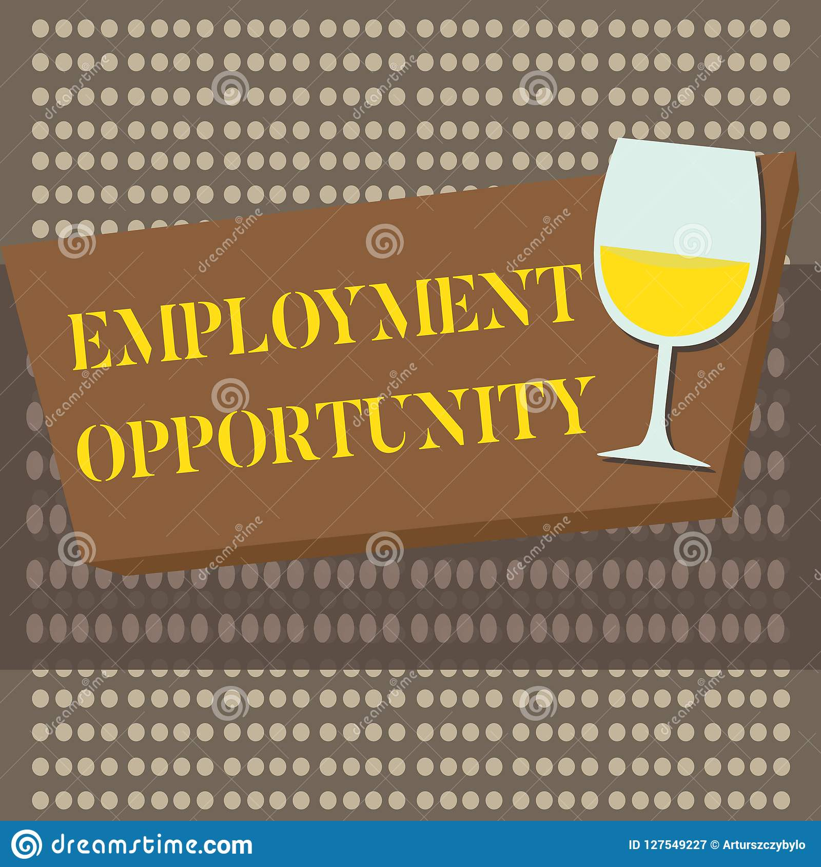 Conceptual hand writing showing Employment Opportunity. Business photo text no Discrimination against Applicant Equal