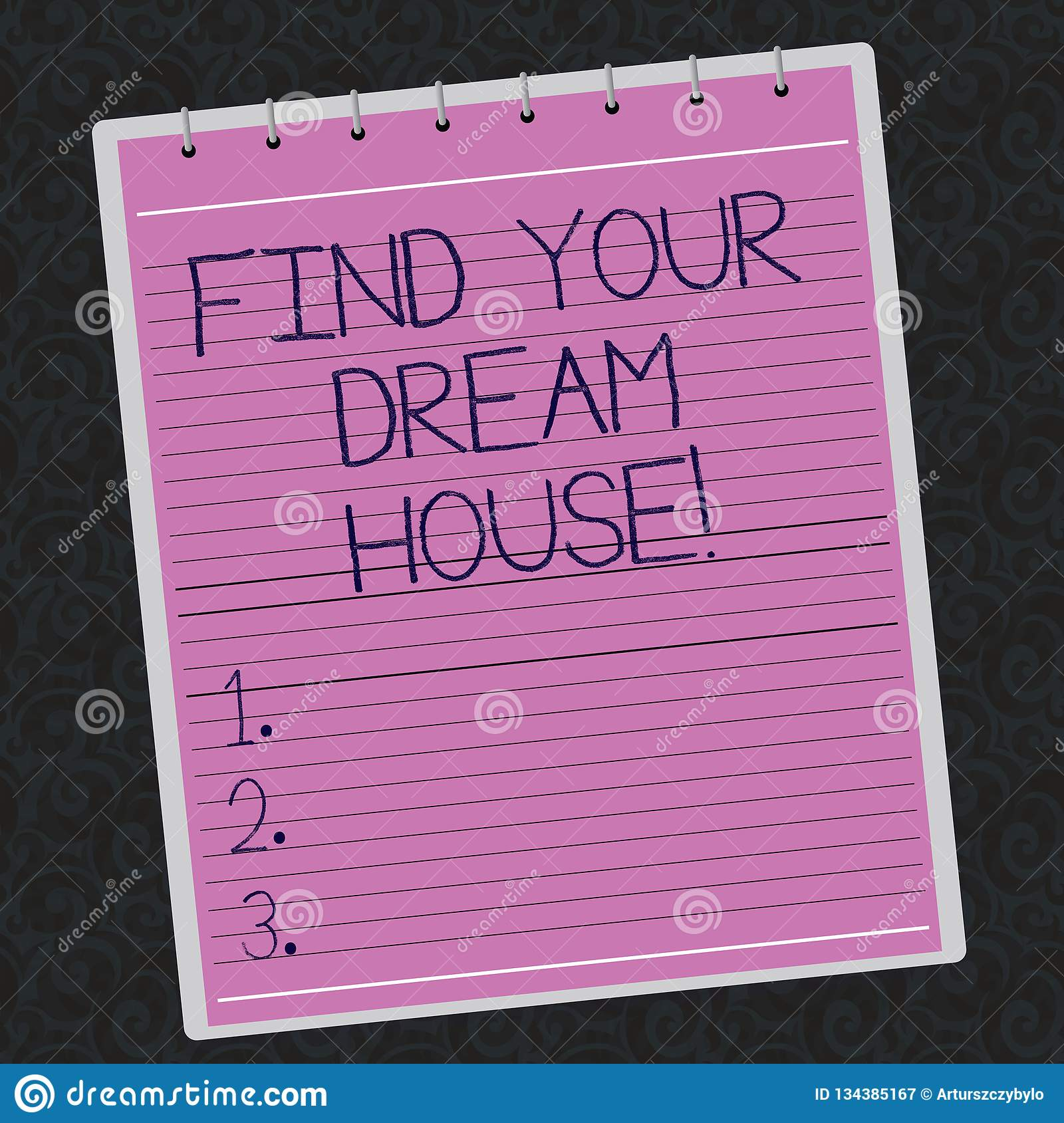 writing about dream house