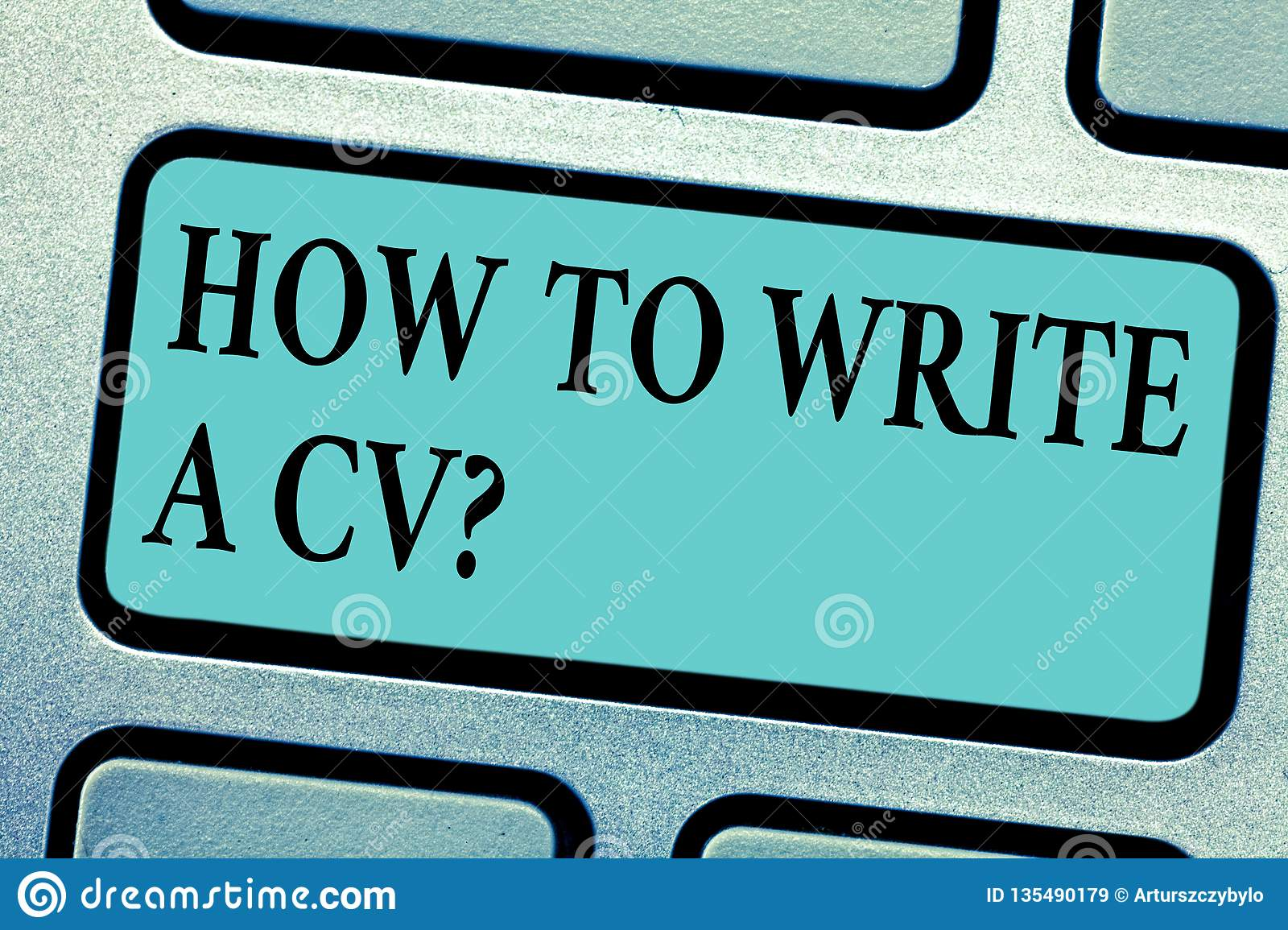 Conceptual hand writing showing How To Write A Cv. Business photo showcasing Recommendations to make a good resume to