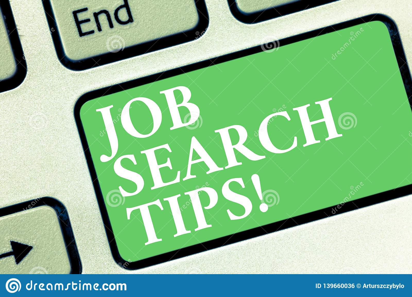 Conceptual hand writing showing Job Search Tips. Business photo showcasing Recommendations to make a good resume to