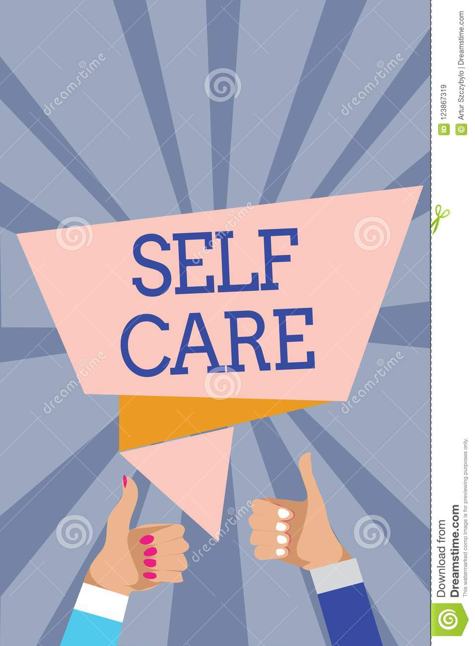 Conceptual Hand Writing Showing Self Care  Business Photo