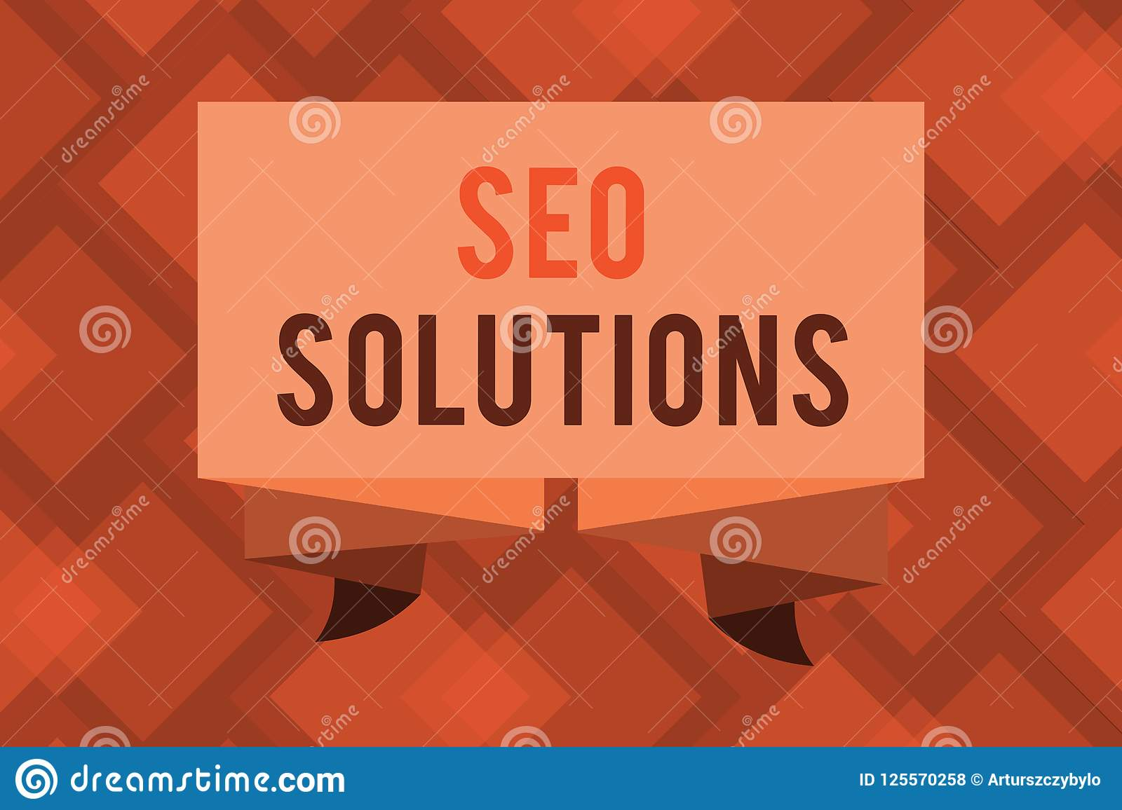 Conceptual hand writing showing Seo Solutions. Business photo text Search Engine Result Page Increase Visitors by Rankings