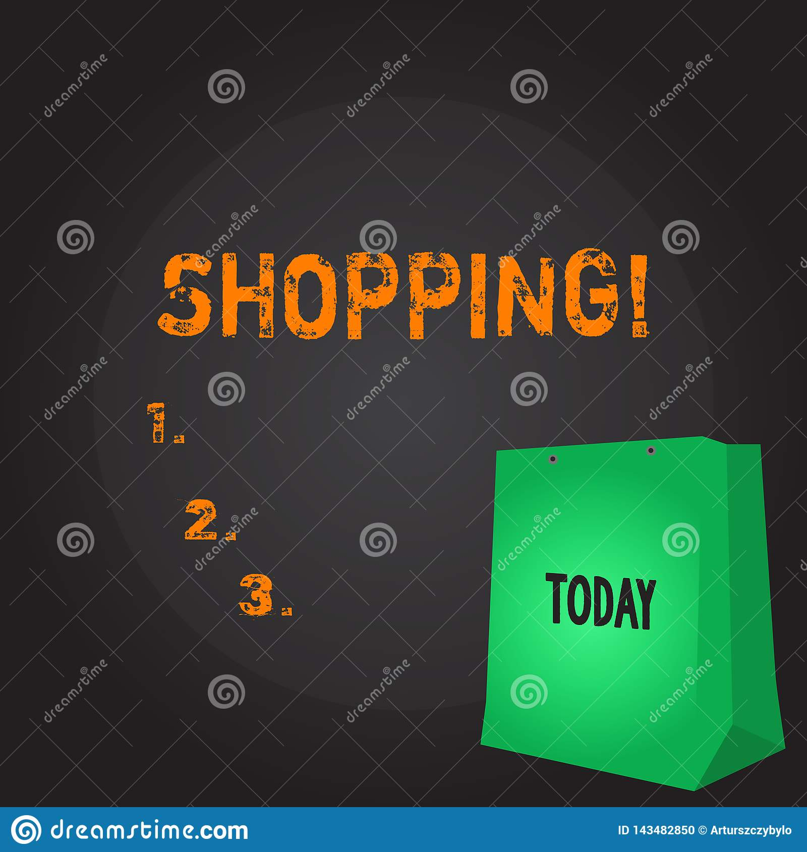 Conceptual hand writing showing Shopping. Business photo showcasing Shopper customer purchase goods products store