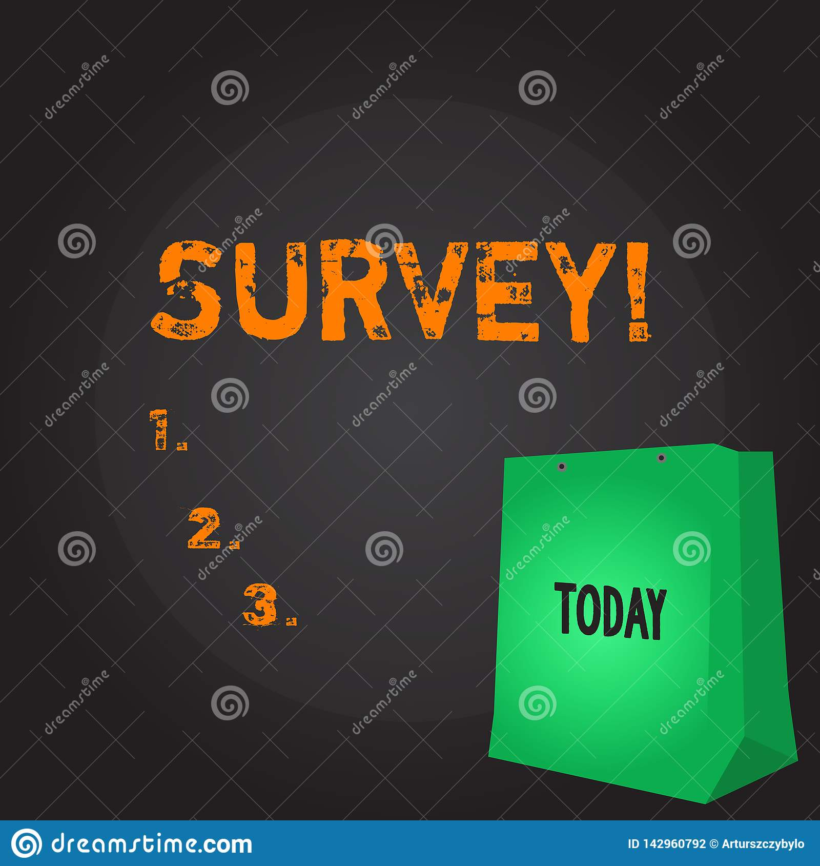 Conceptual hand writing showing Survey. Business photo showcasing Questioning group of showing to gather opinion on a