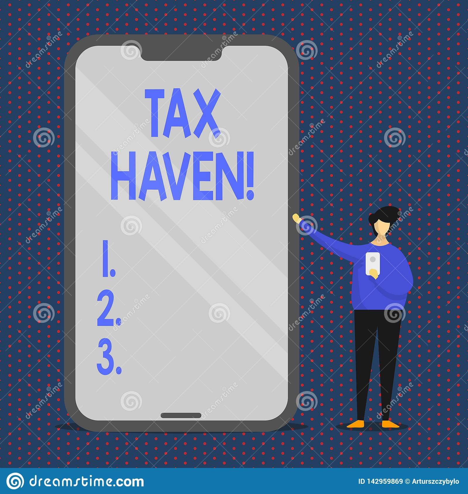 Conceptual hand writing showing Tax Haven. Business photo text country or independent area where taxes are levied at low