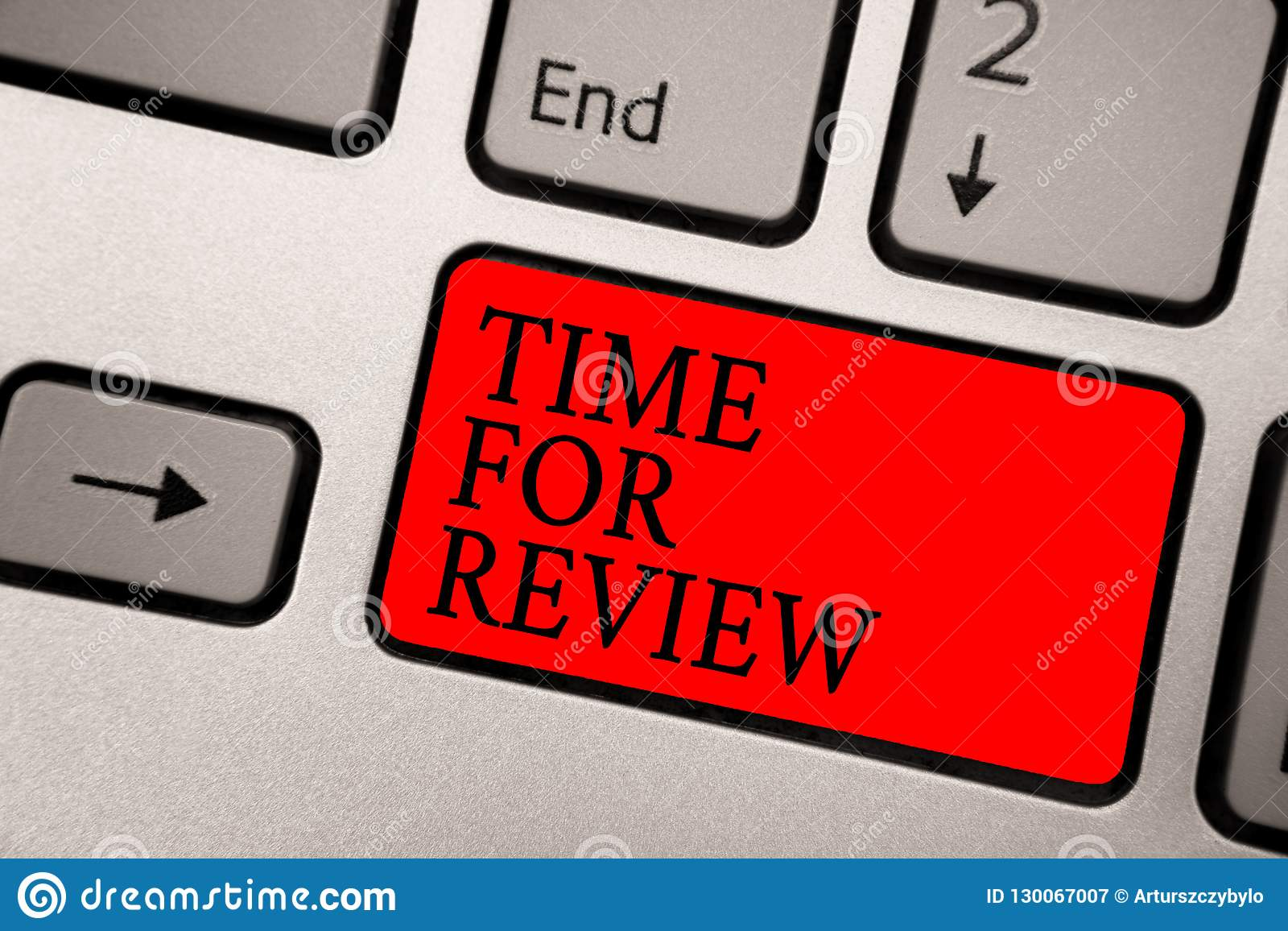 Conceptual hand writing showing Time For Review. Business photo text Evaluation Feedback Moment Performance Rate Assess